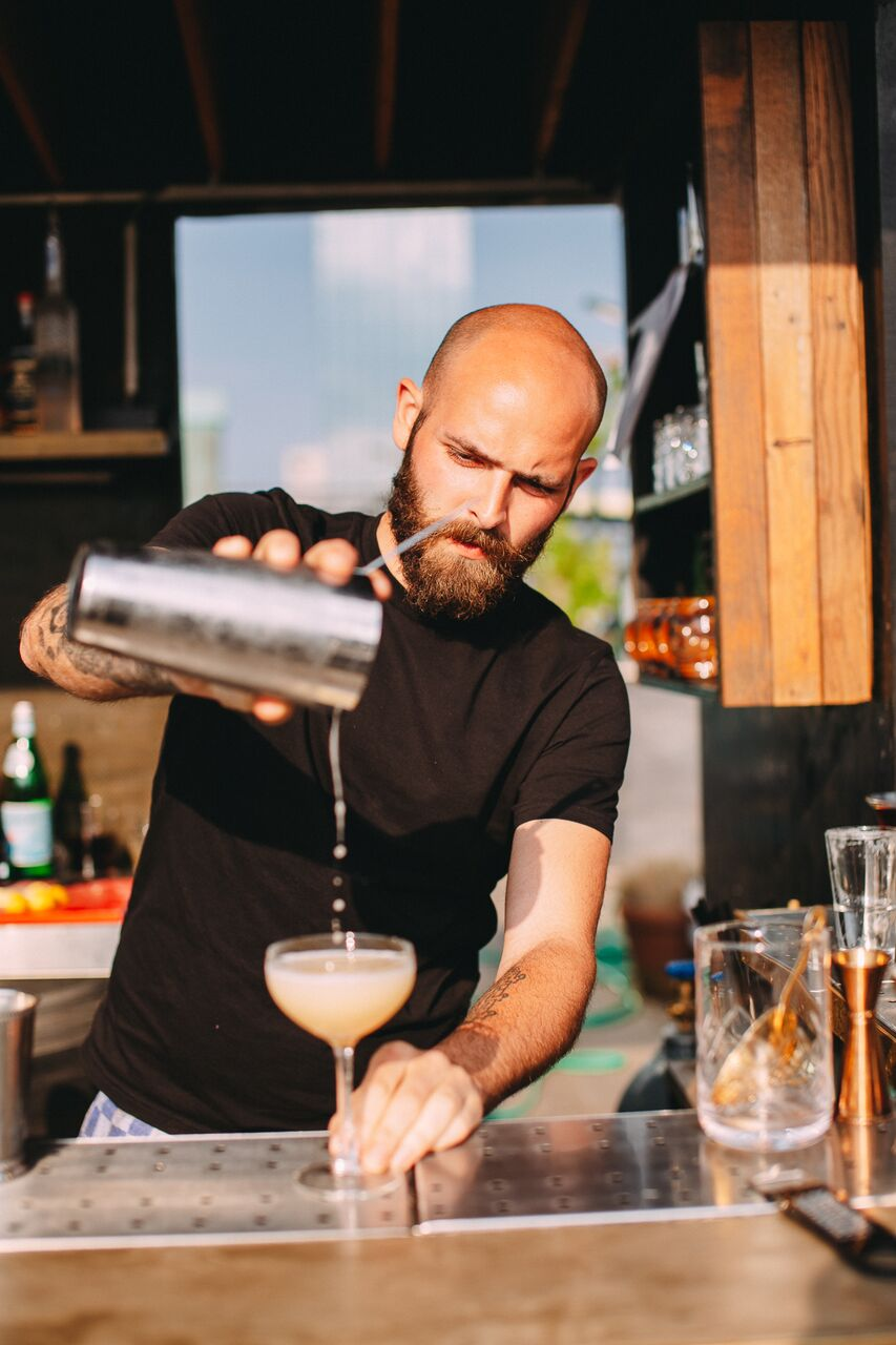 Luca Veronesi bartender