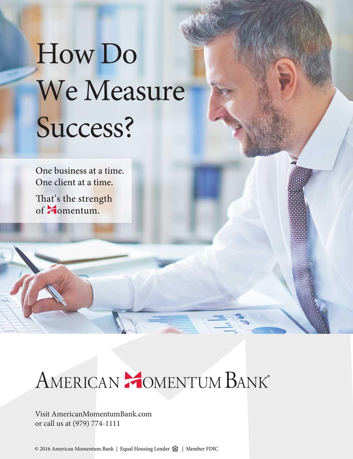 American Momentum Bank - Print Ad