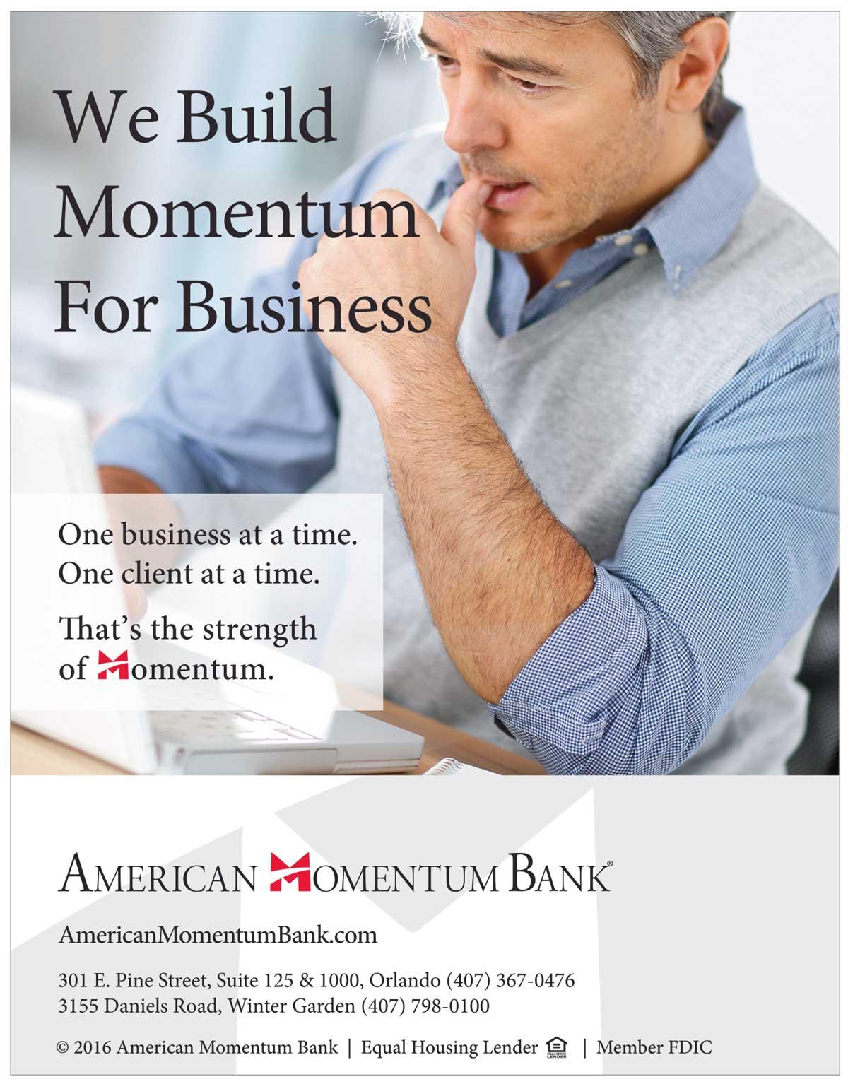 American Momentum Bank - Poster