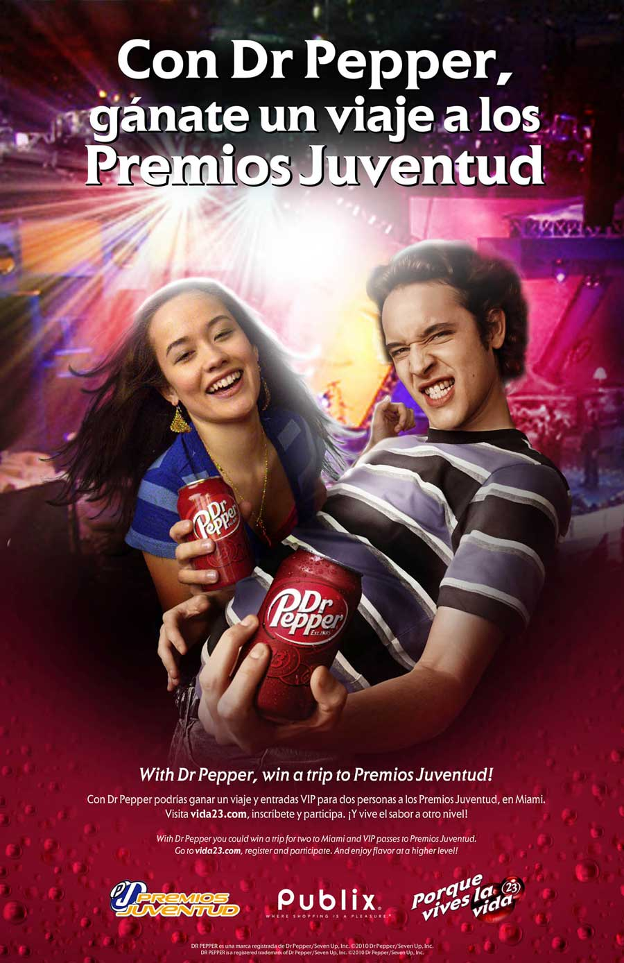 Dr Pepper - Premios Juventud  VIda23 POS