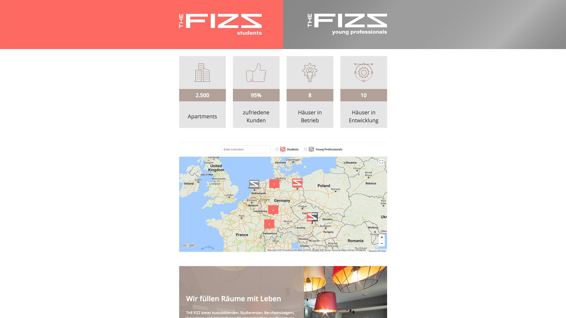 Zahlen und Fakten zu den Produkten der THE FIZZ business