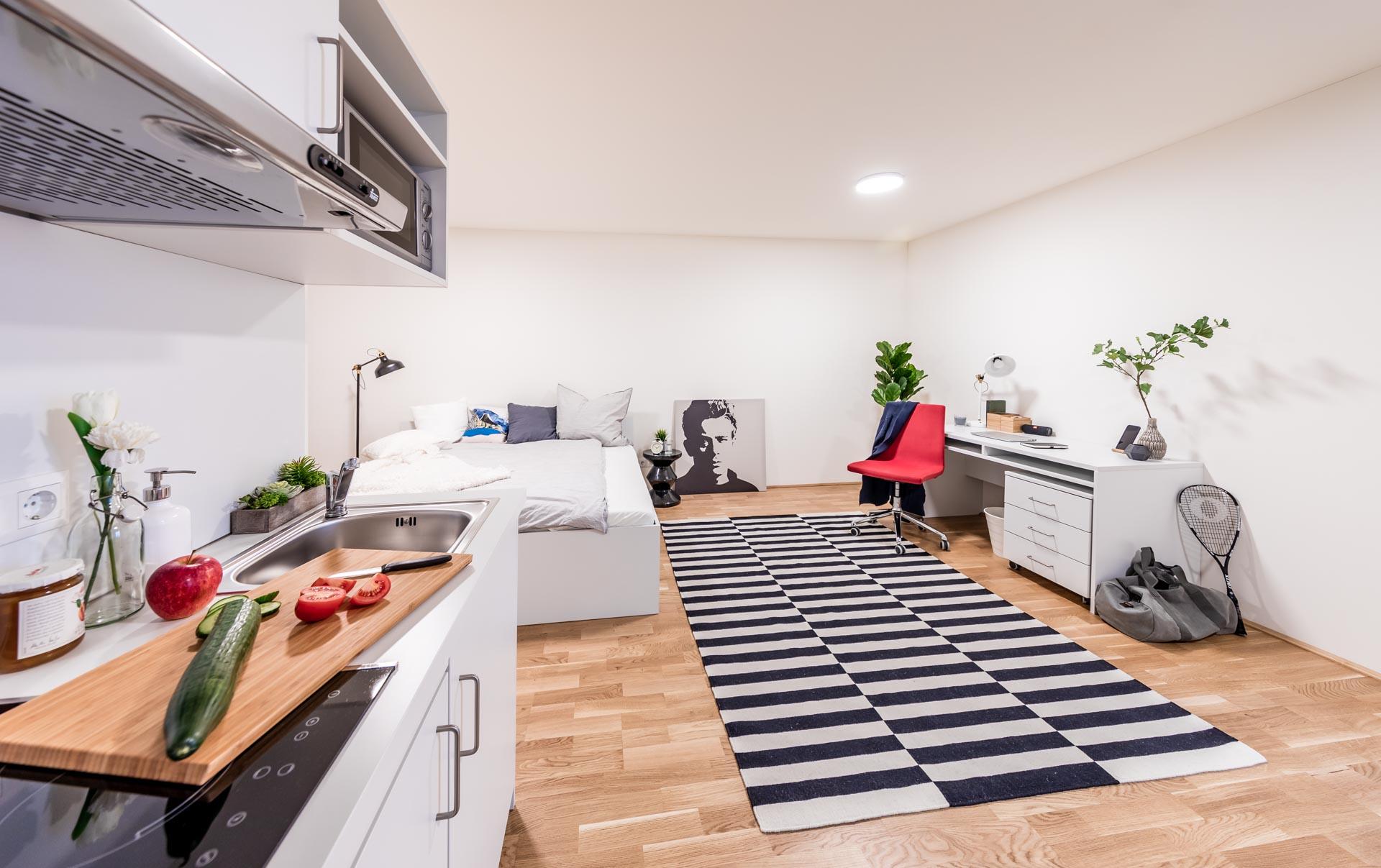 THE FIZZ Double Apartment - Kochbereich