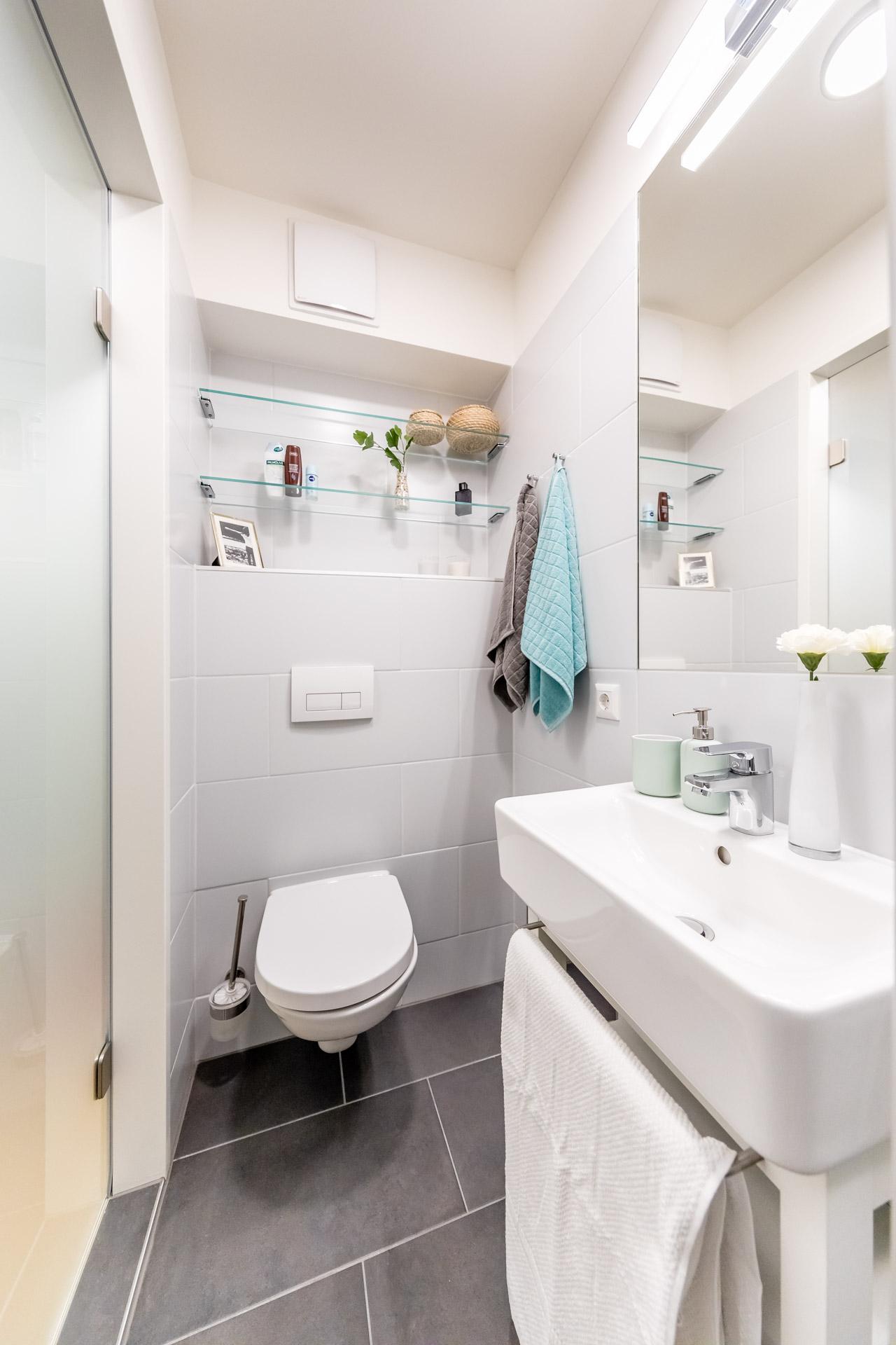 THE FIZZ Double Apartment - Badezimmer
