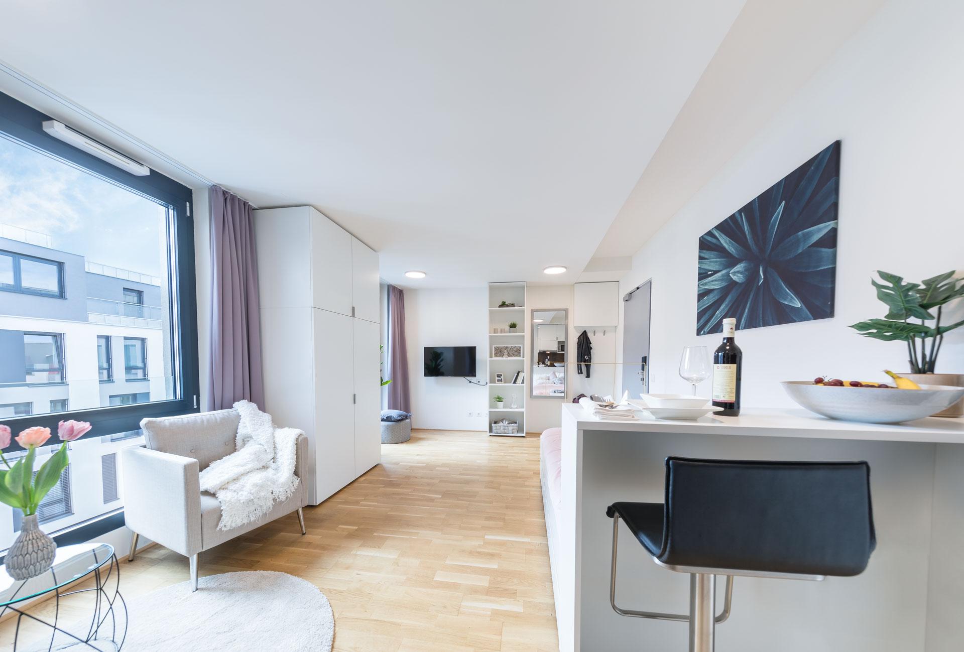 THE FIZZ Plus Wien X- Large Apartment - Essbereich