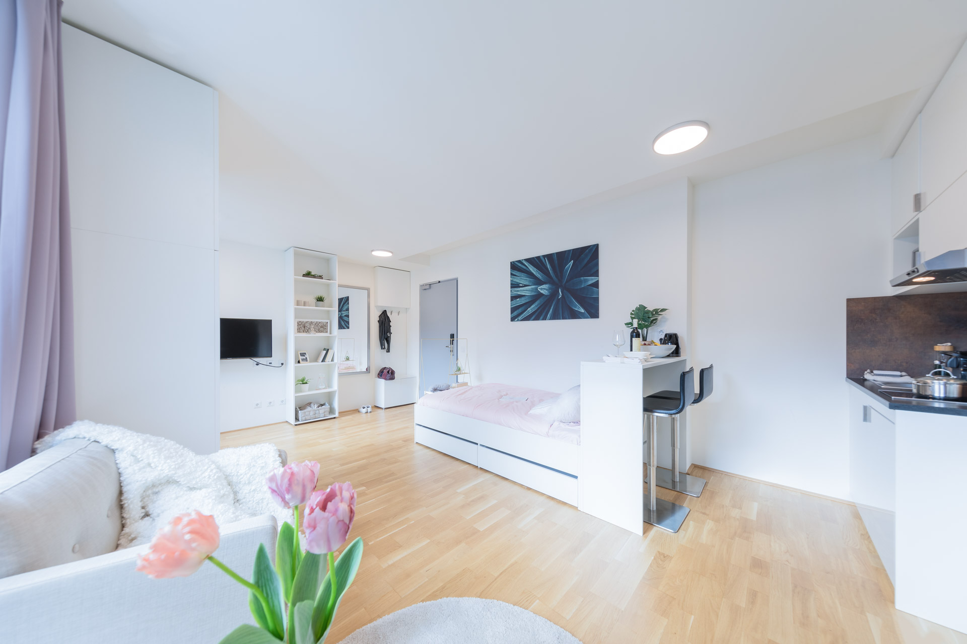 THE FIZZ Plus Wien X- Large Apartment - Wohnbereich