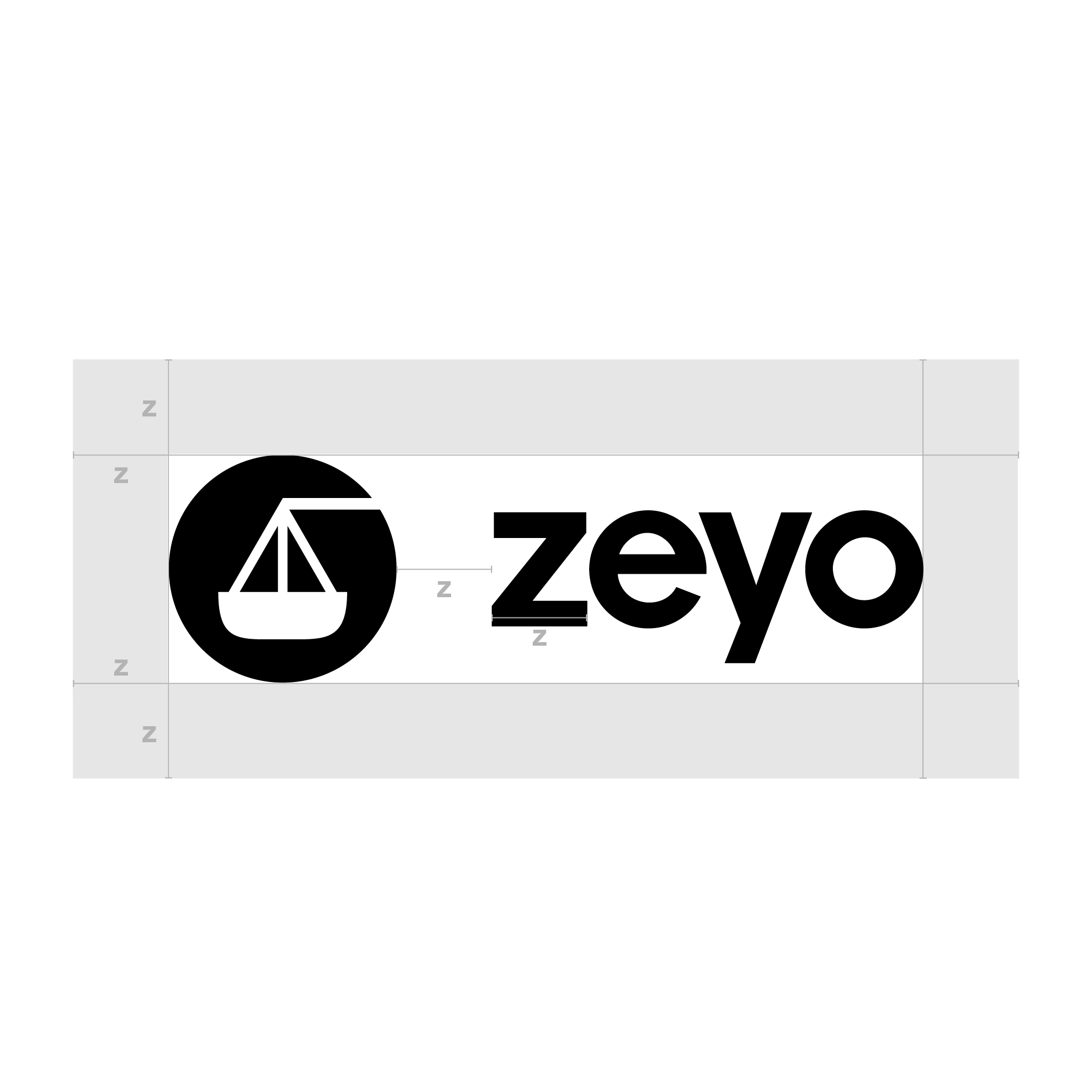 Zeyo Horizontal Logo Clearspace