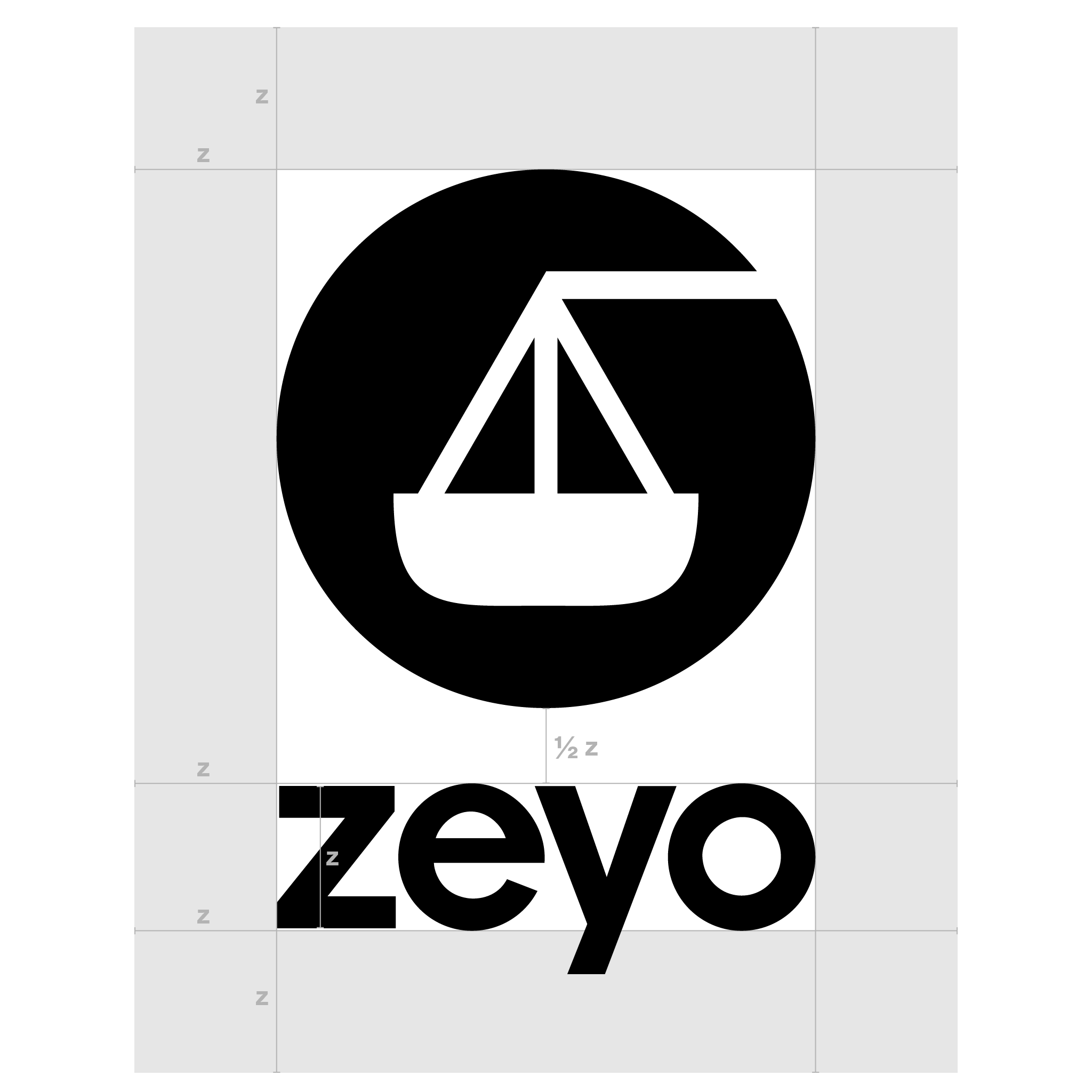 Zeyo Vertical Logo Clearspace