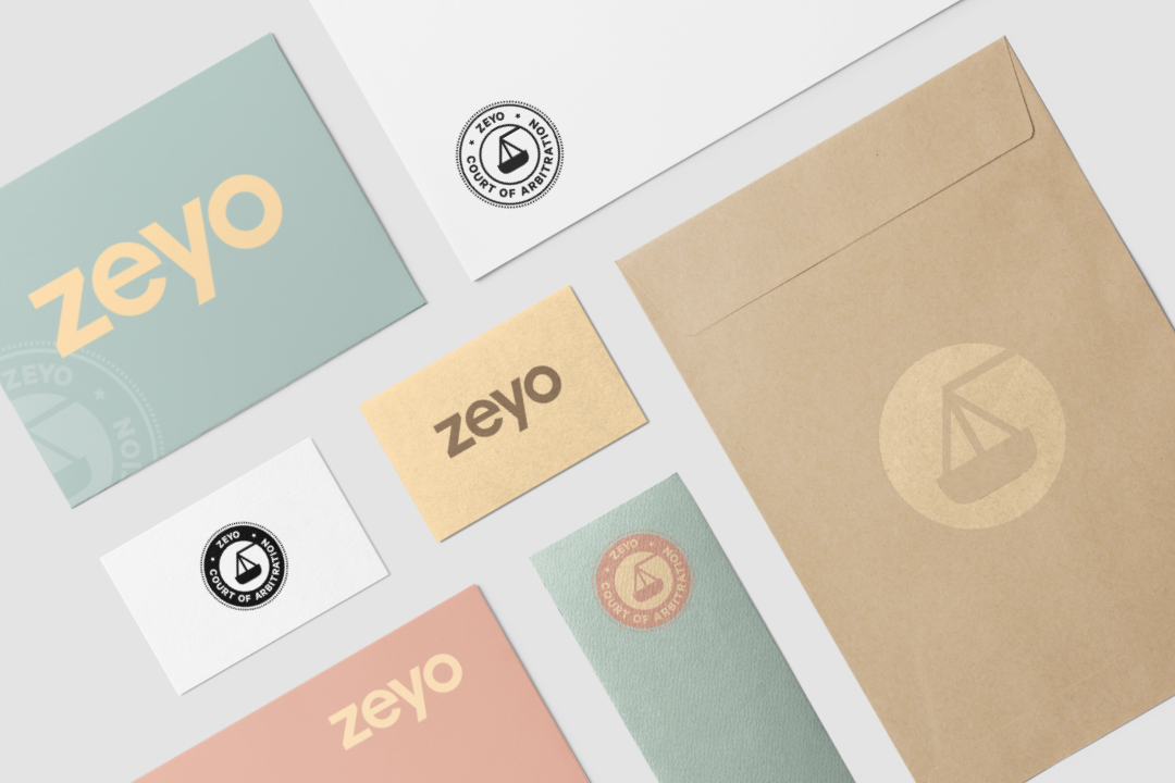 Zeyo startup marketing and brand design