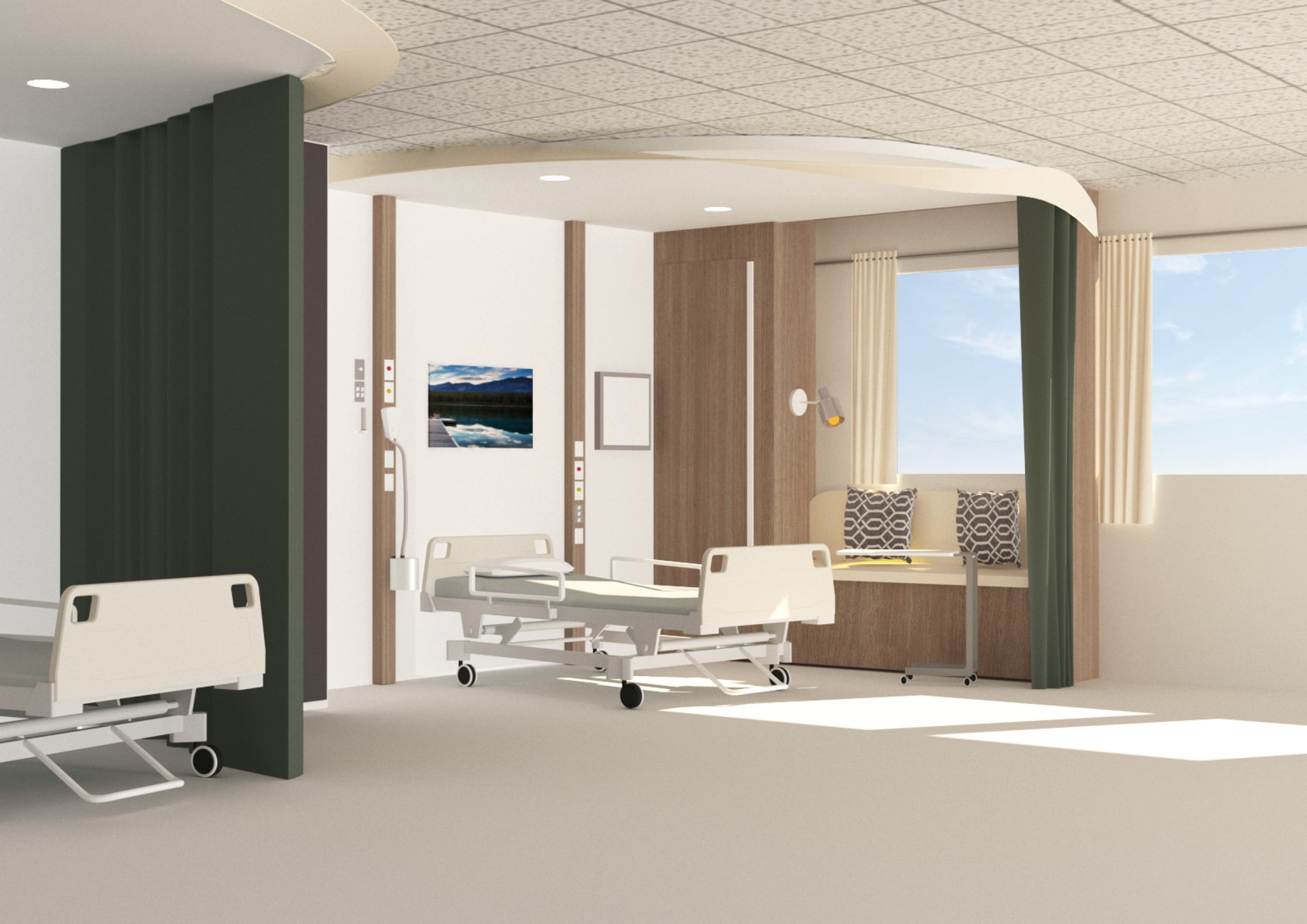 Good Health Design Integrated Studio VI 2019 – Ward Room