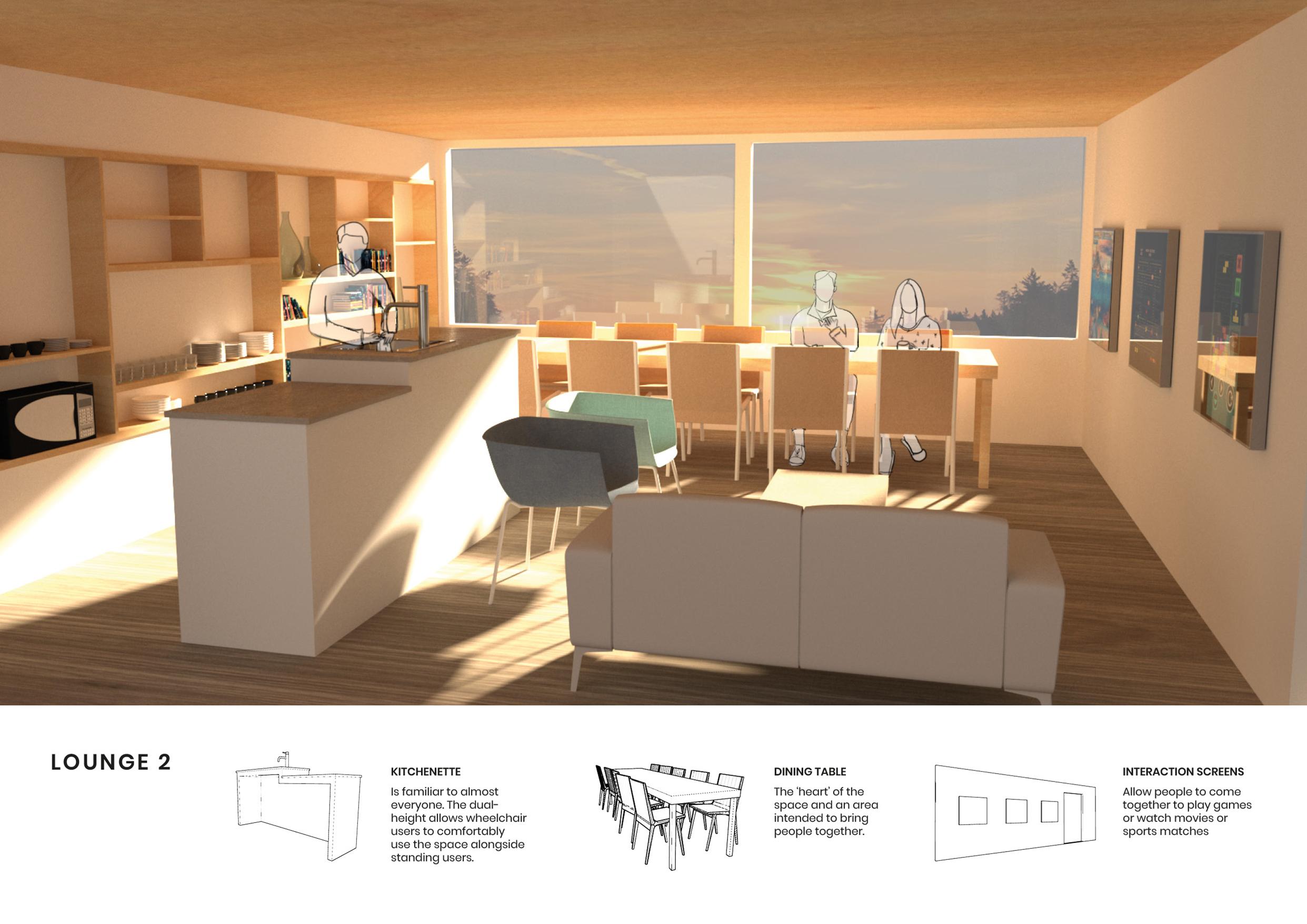 Good Health Design Integrated Studio VI 2019 – Waiting Room