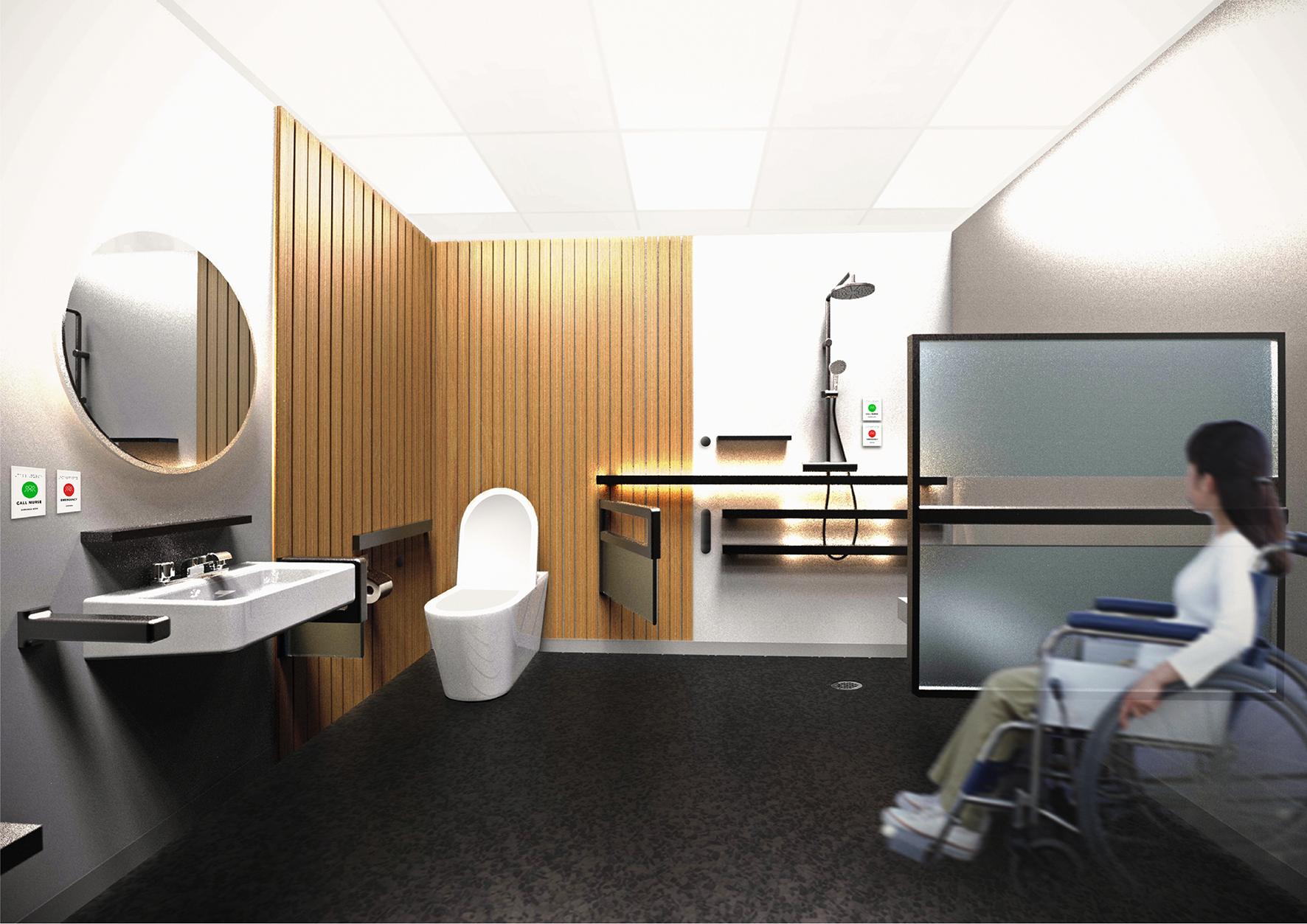 Good Health Design Integrated Studio VI 2019 – Bathroom Project