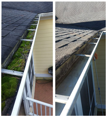 gutter cleaning by qs cleaning