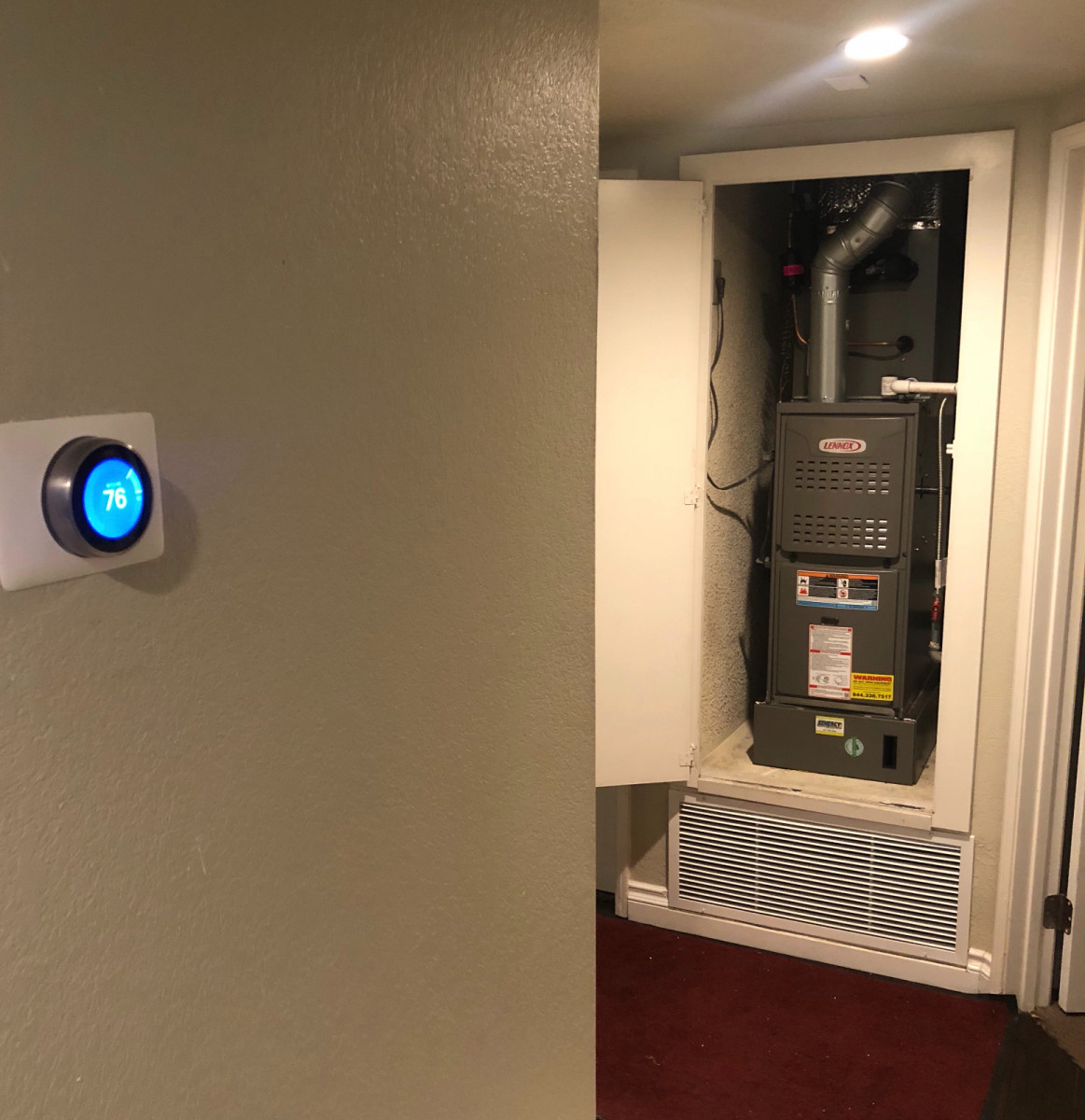 Heating and maintenance services by Senergy Heating and Air Conditioning