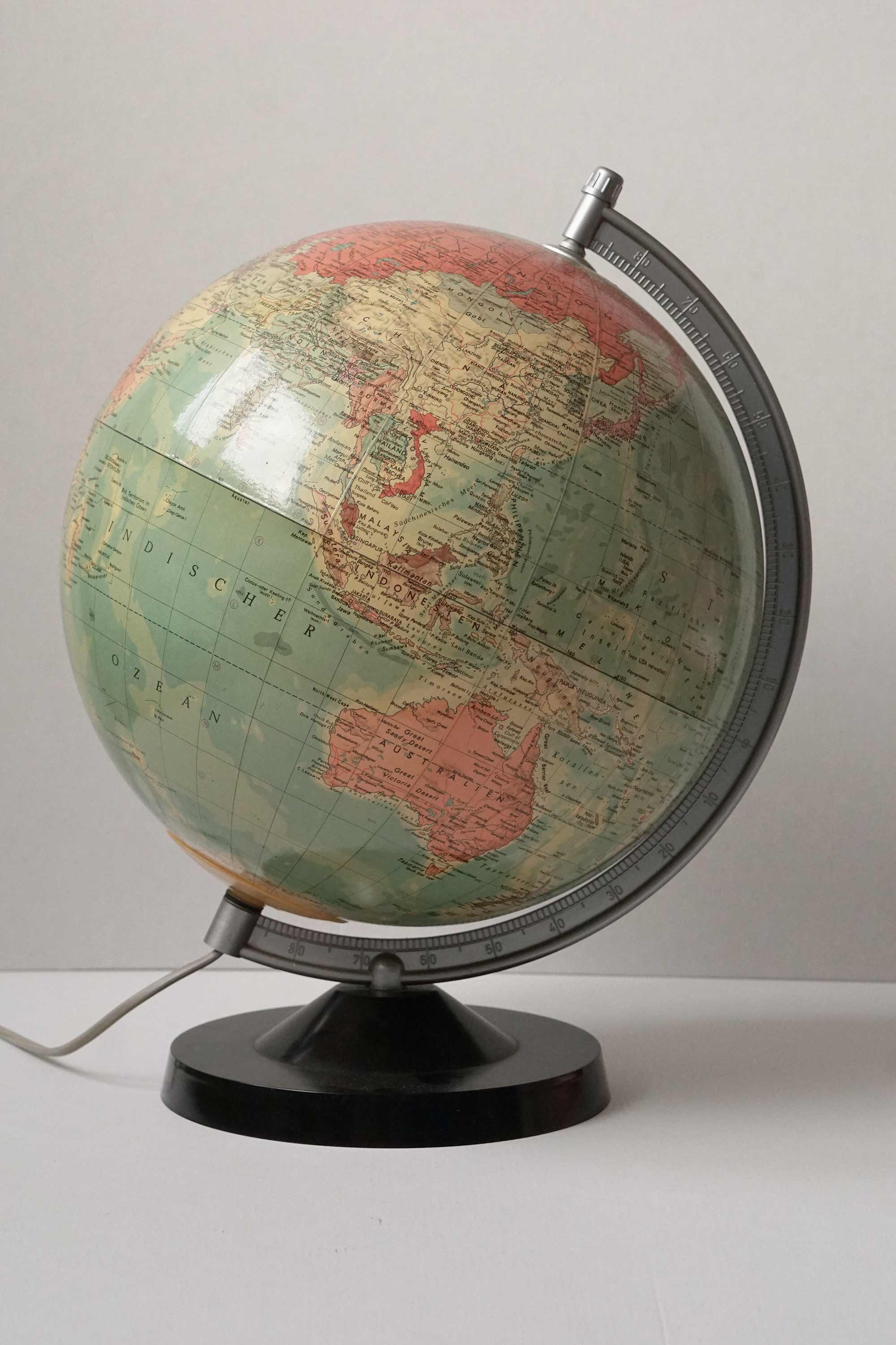 German Political Light Globe from Cold War Era