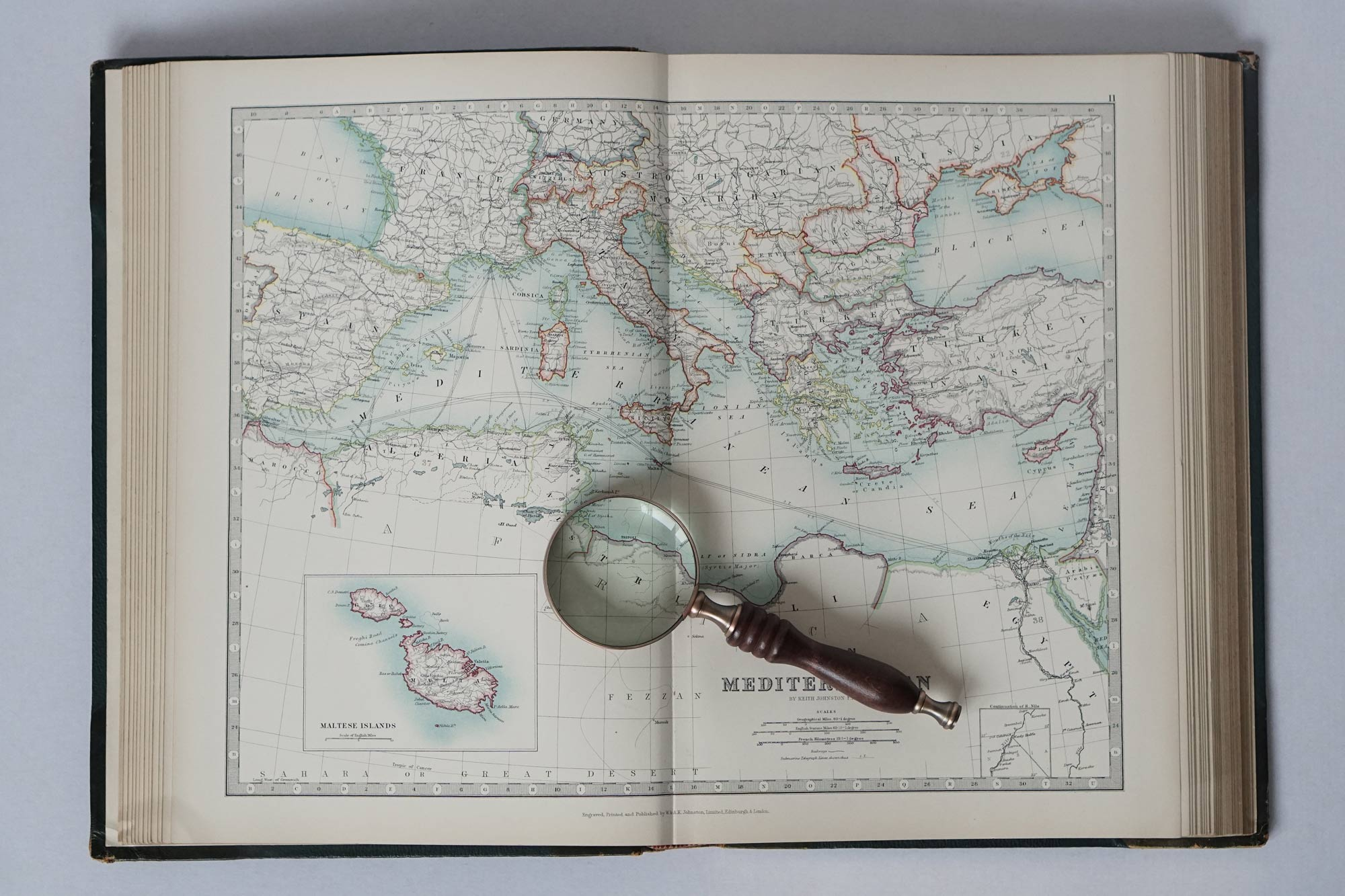 The Handy Royal Atlas of Modern Geography