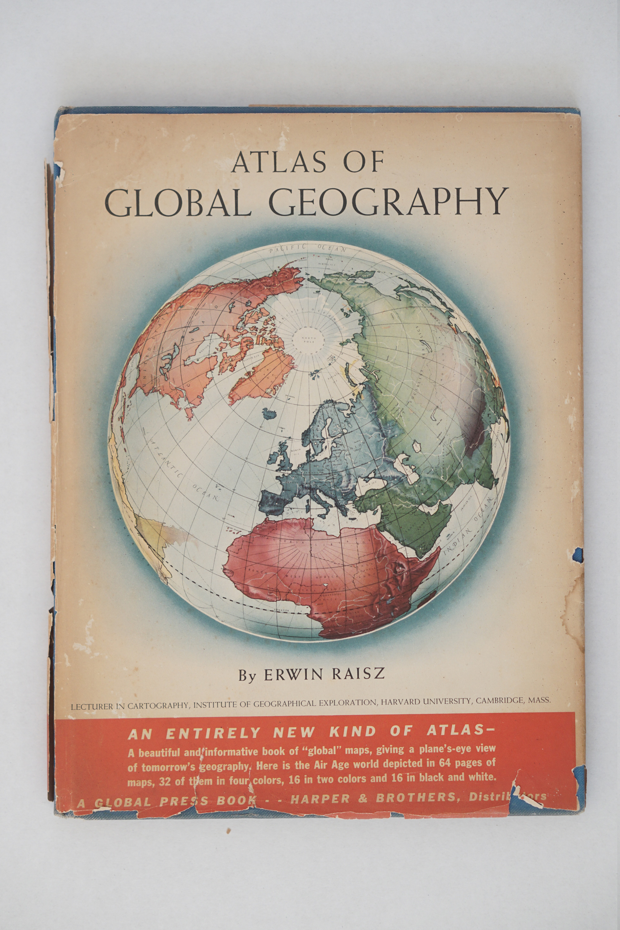 Cover of Atlas of Global Geography by Erwin Raisz