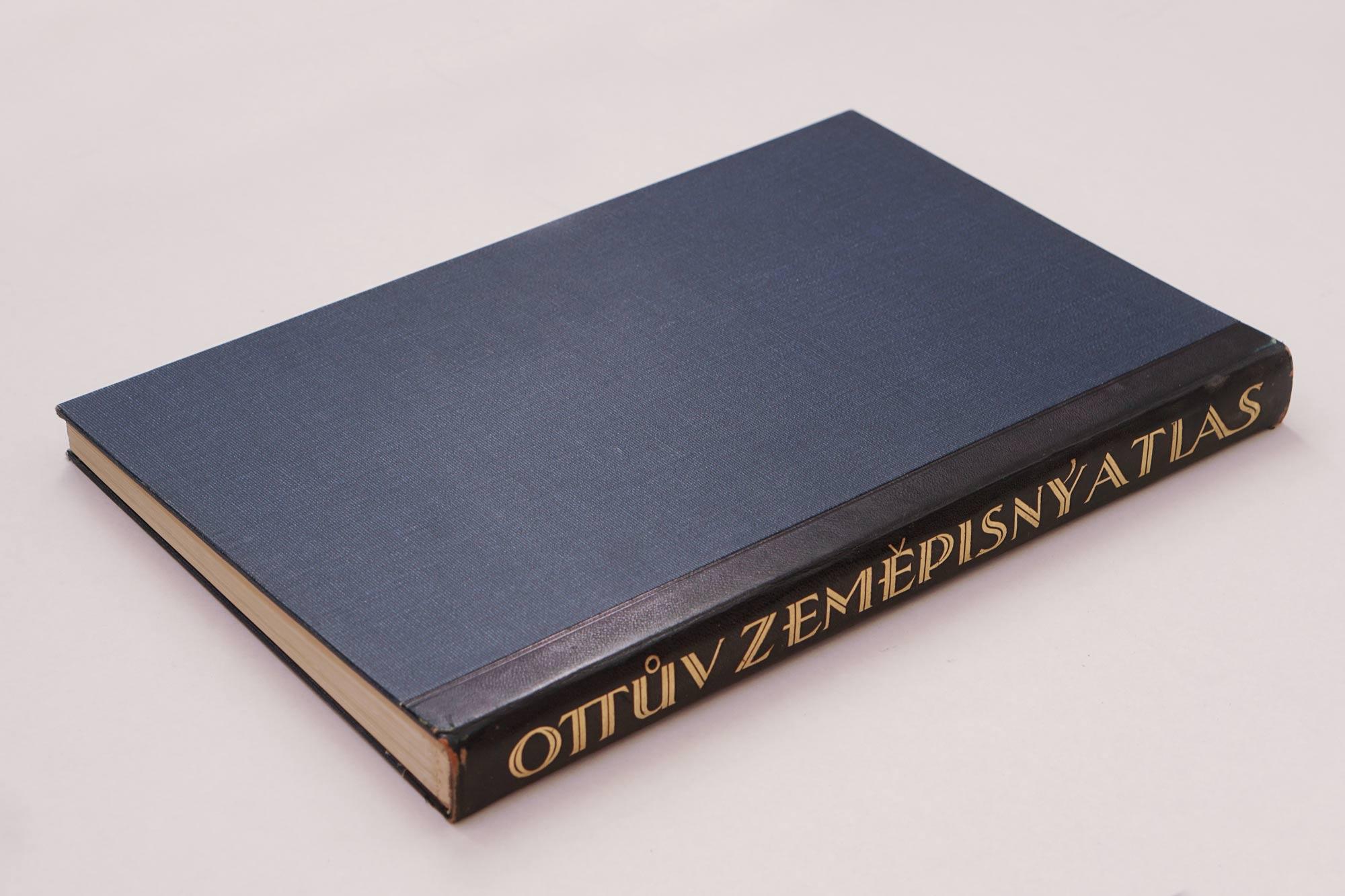 Ottův zeměpisný atlas