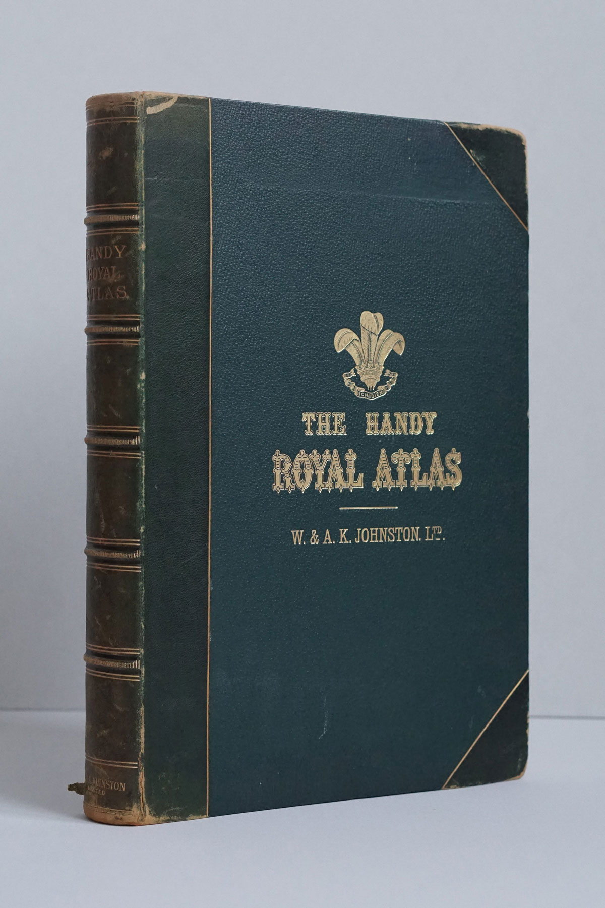 The Handy Royal Atlas of Modern Geography by W. & A. K. Johnston