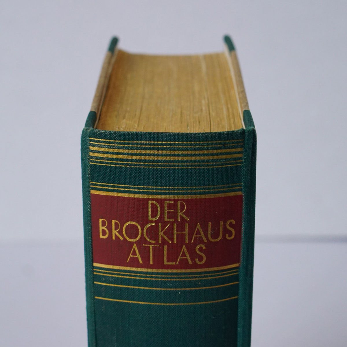 "Very thick ""Der Brockhaus Atlas"" from 1937"