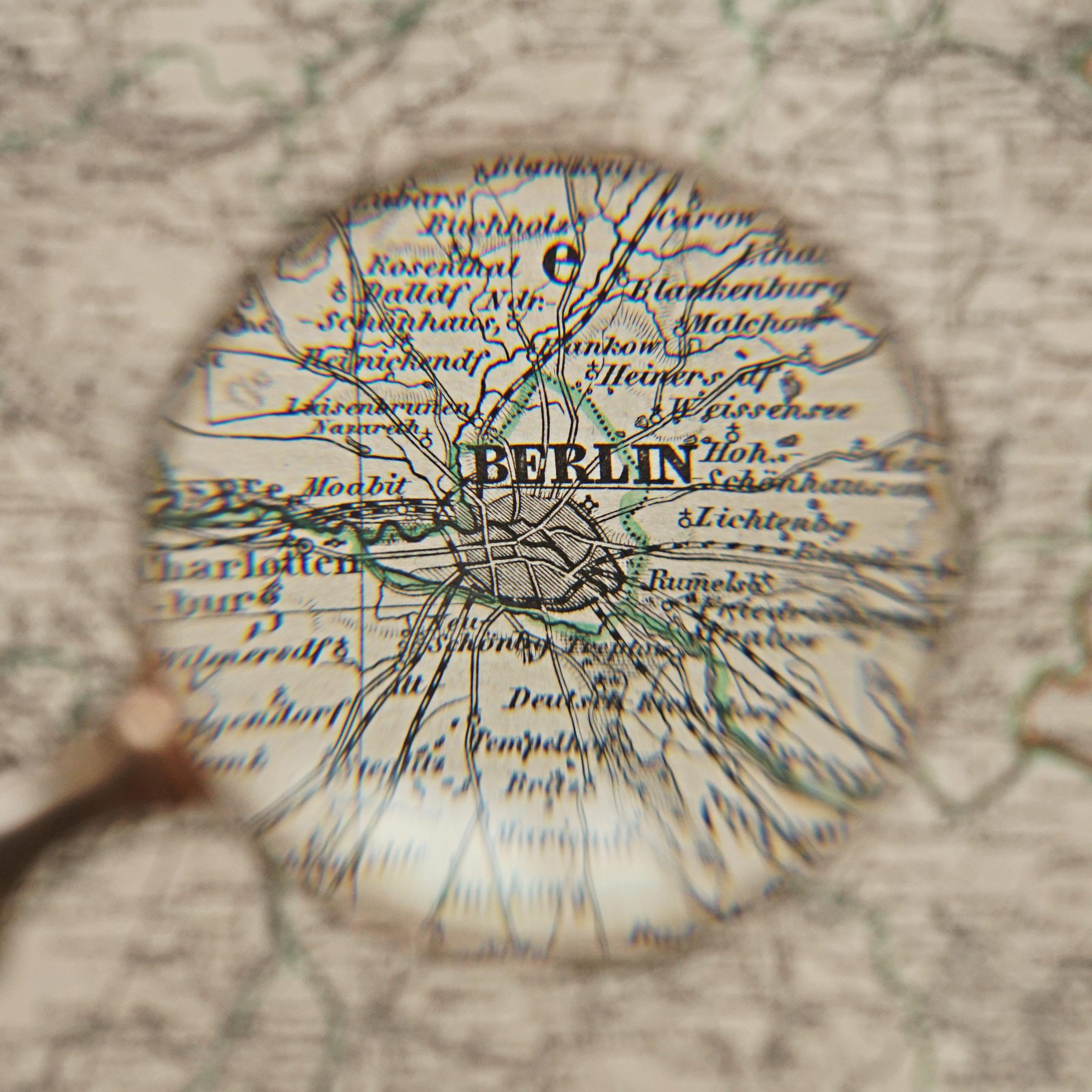 Closeup of Berlin - Kieperts Grosser Handatlas des Himmels und der Erde