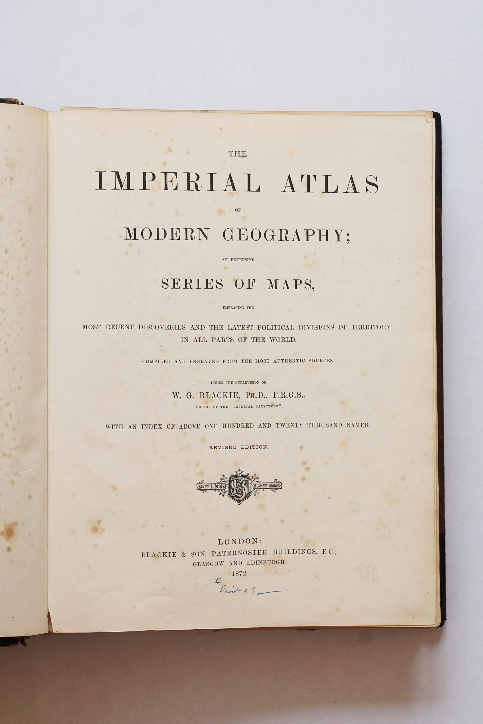 The Imperial Atlas of Modern Geography