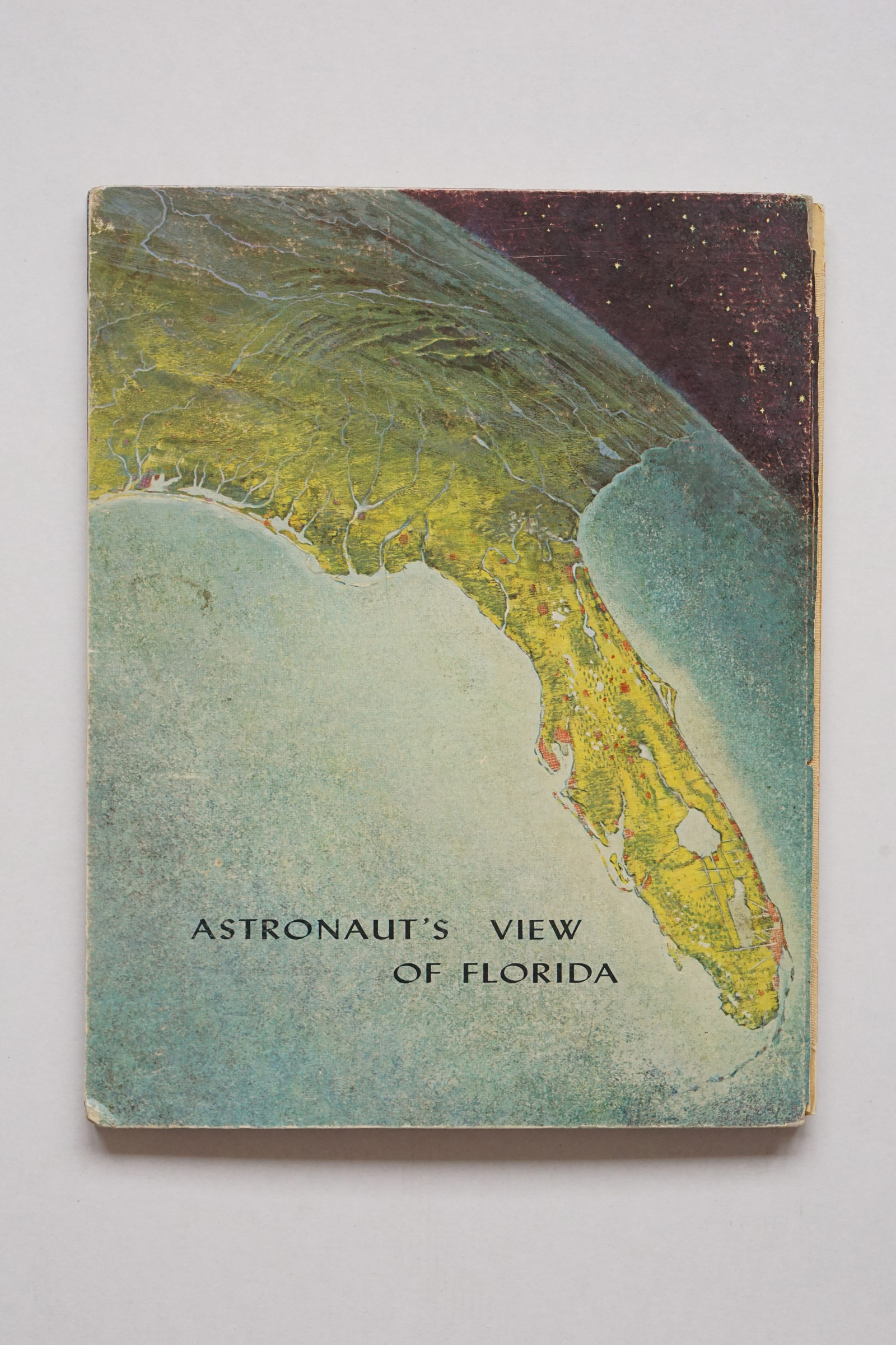 Back cover of The Atlas of Florida by Erwin Raisz - 1964