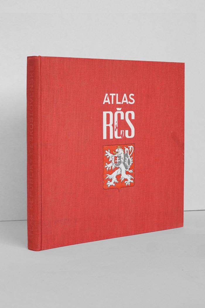 Atlas Republiky Českolsovenské from 1935