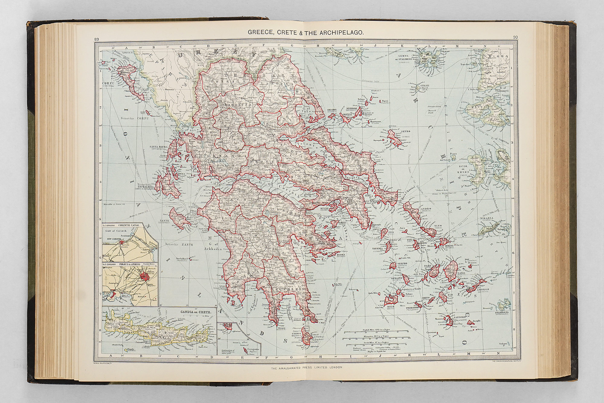 Harmsworth Universal Atlas and Gazetteer