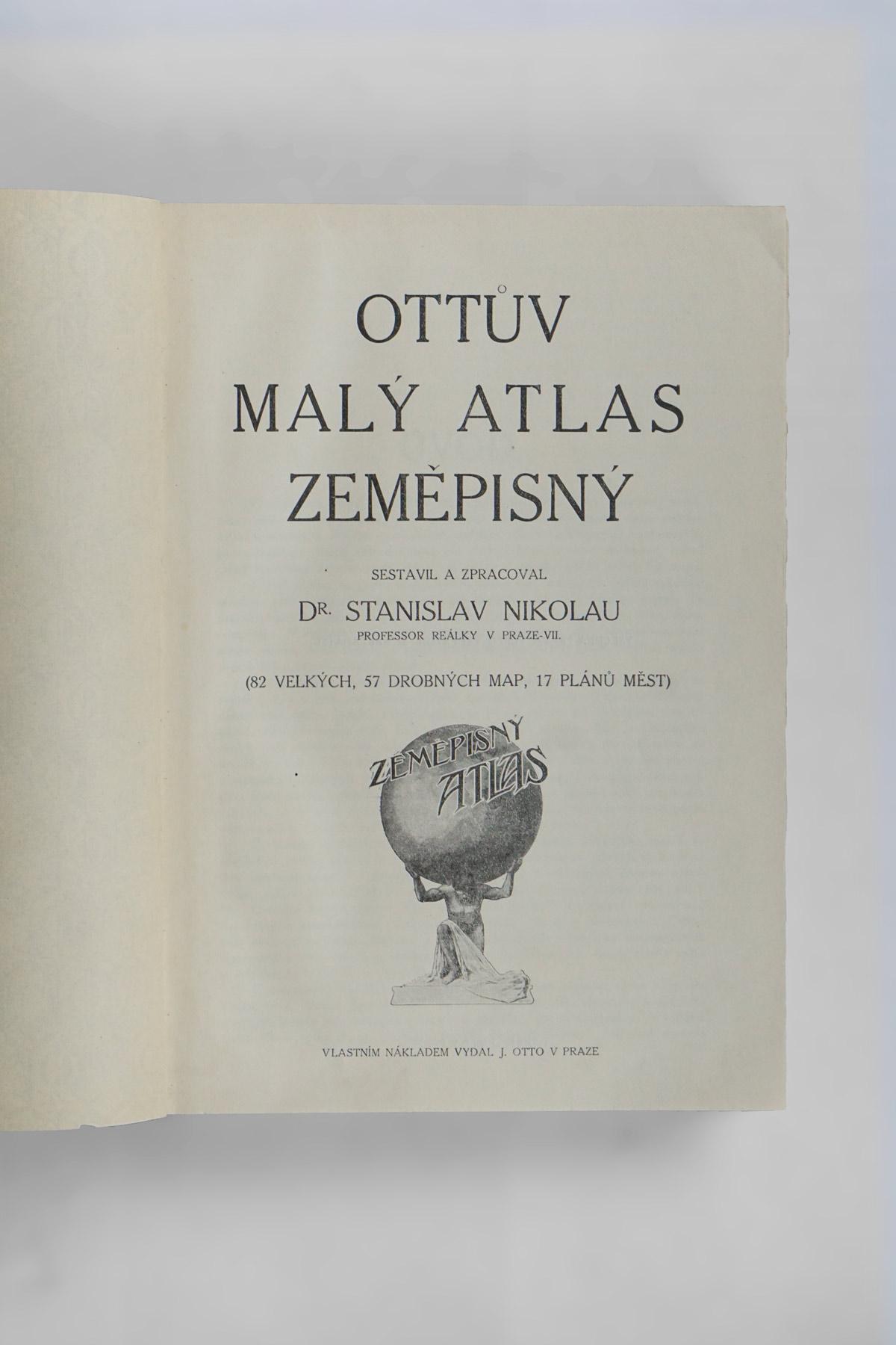 Ottův Malý Atlas Zeměpisný