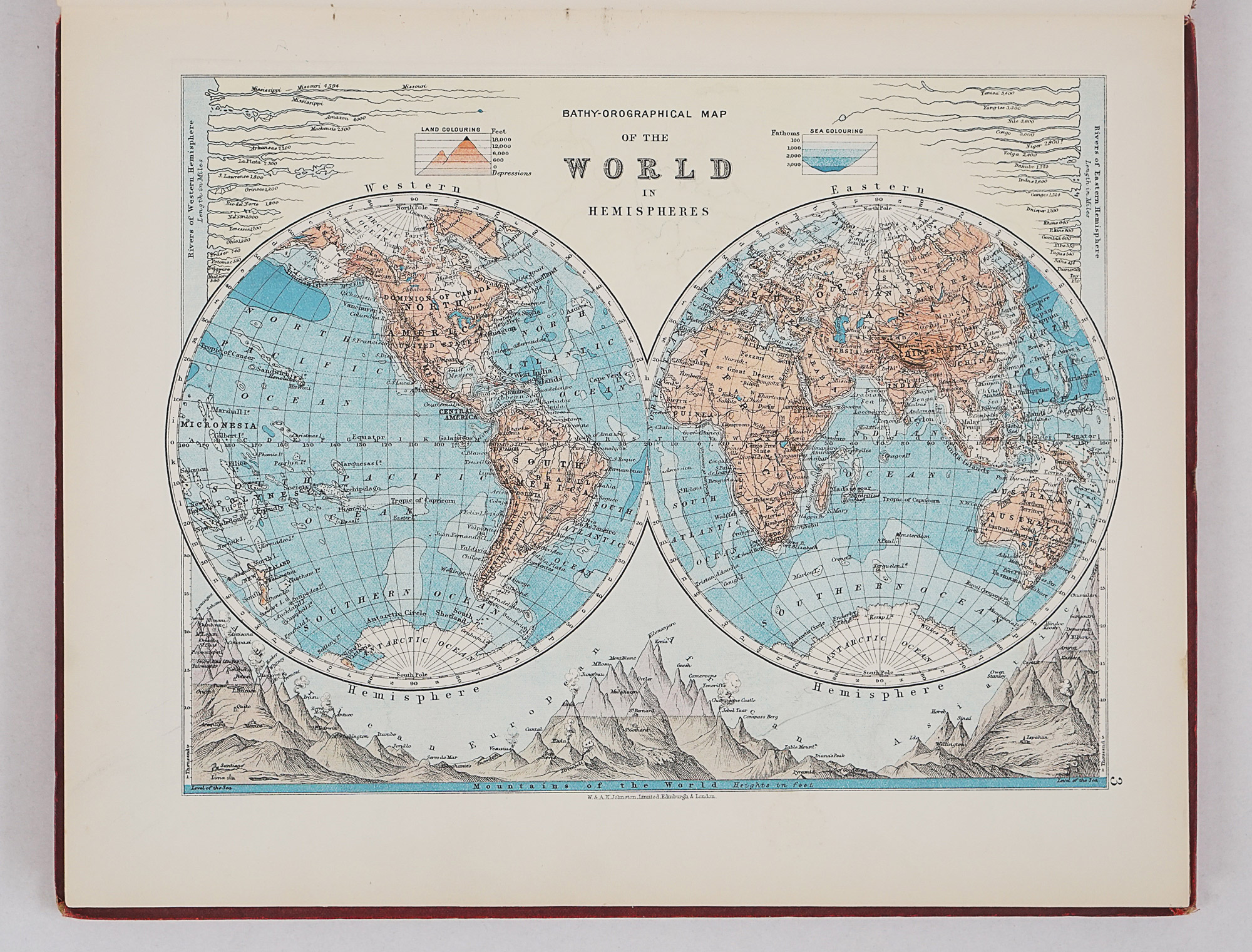 The World-Wide Atlas of Modern Geography