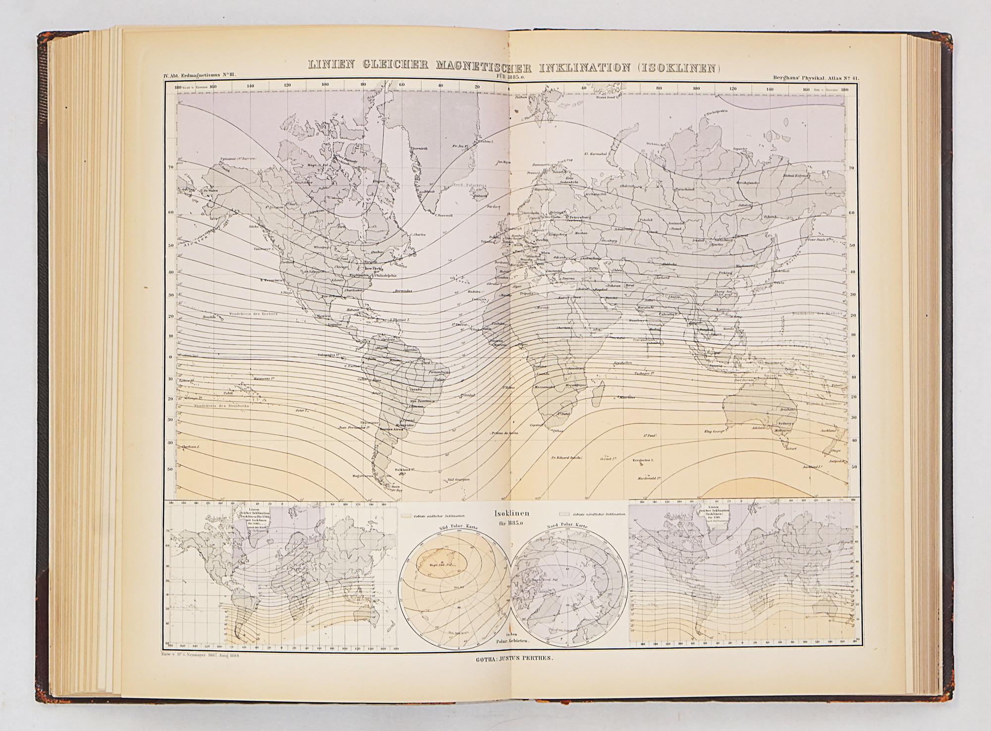 Berghaus Physikalischer Atlas
