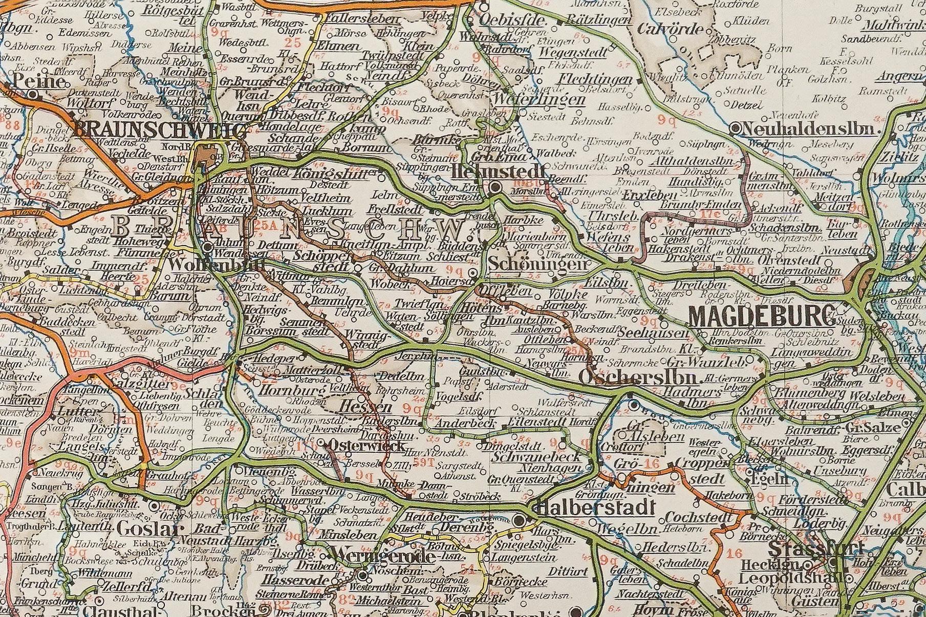 Eisenbahn- und Verkehrs- Atlas von Europa