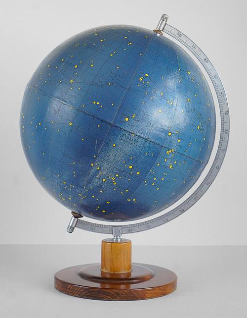 Rare Vintage German Celestial Globe by Rath