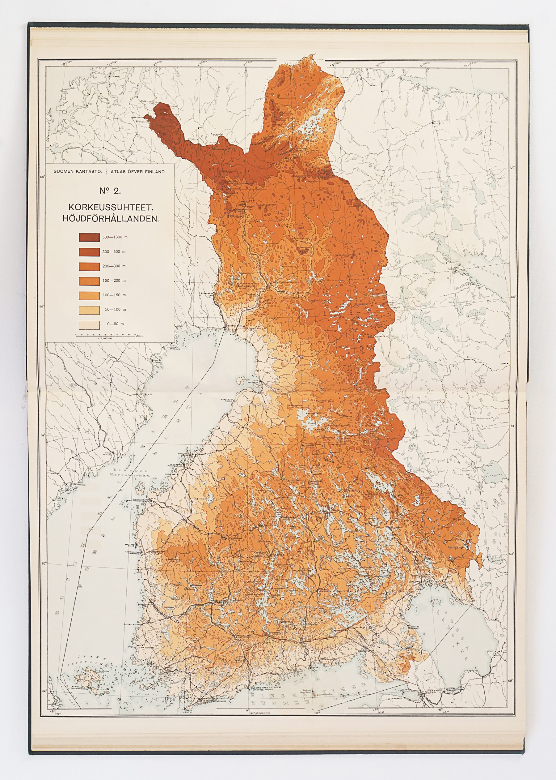 Atlas öfver Finland, First Edition