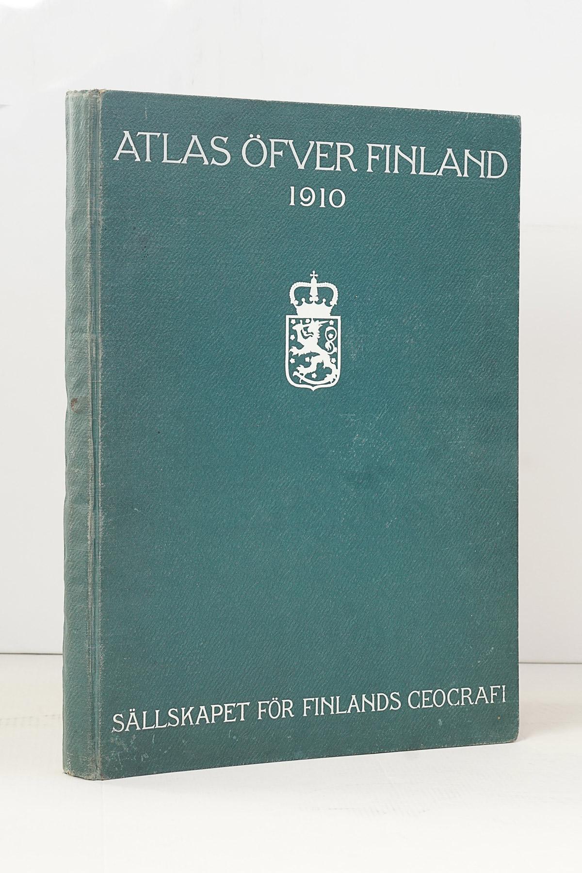 Atlas öfver Finland, Second Edition