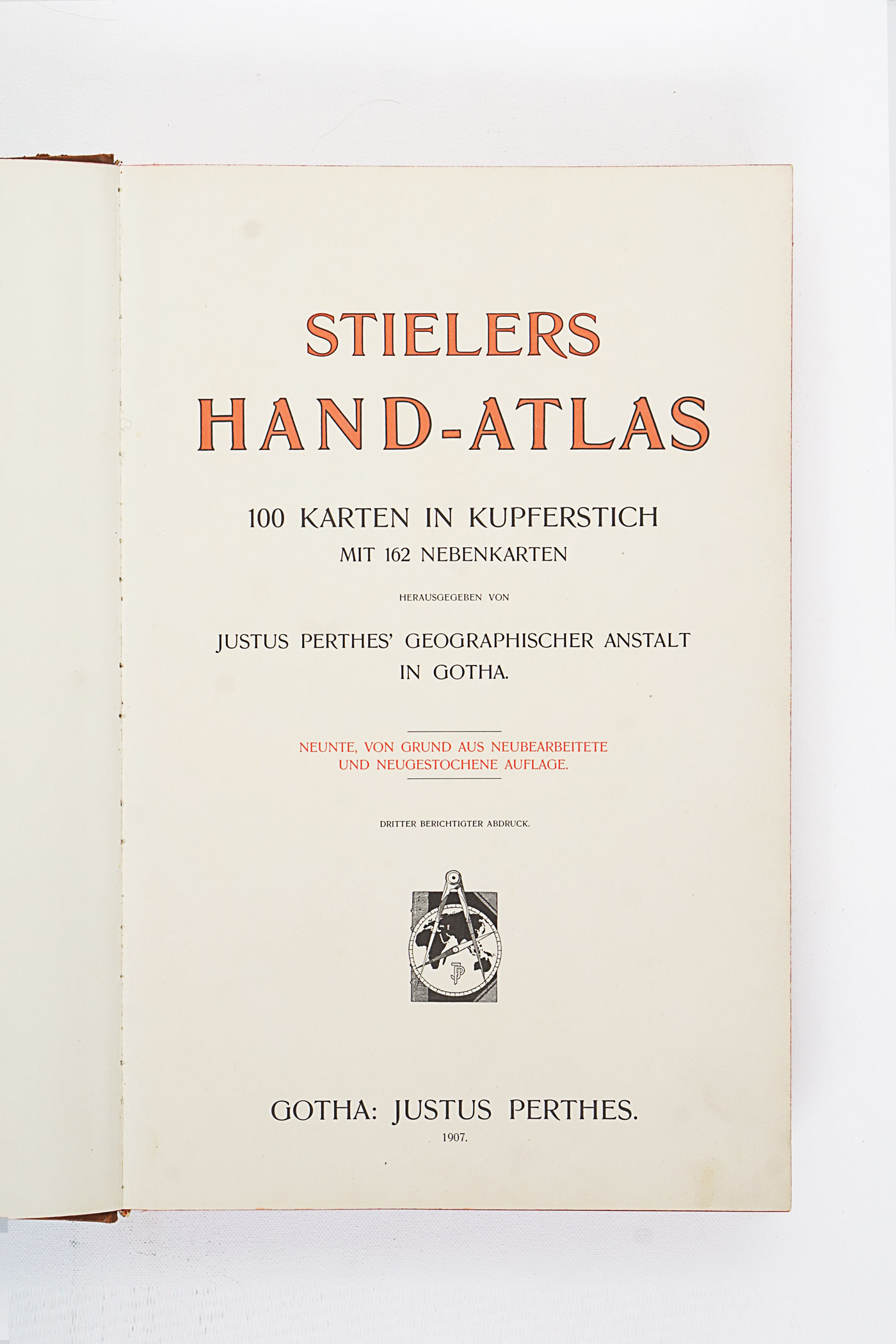 Stielers Handatlas, 9th edition