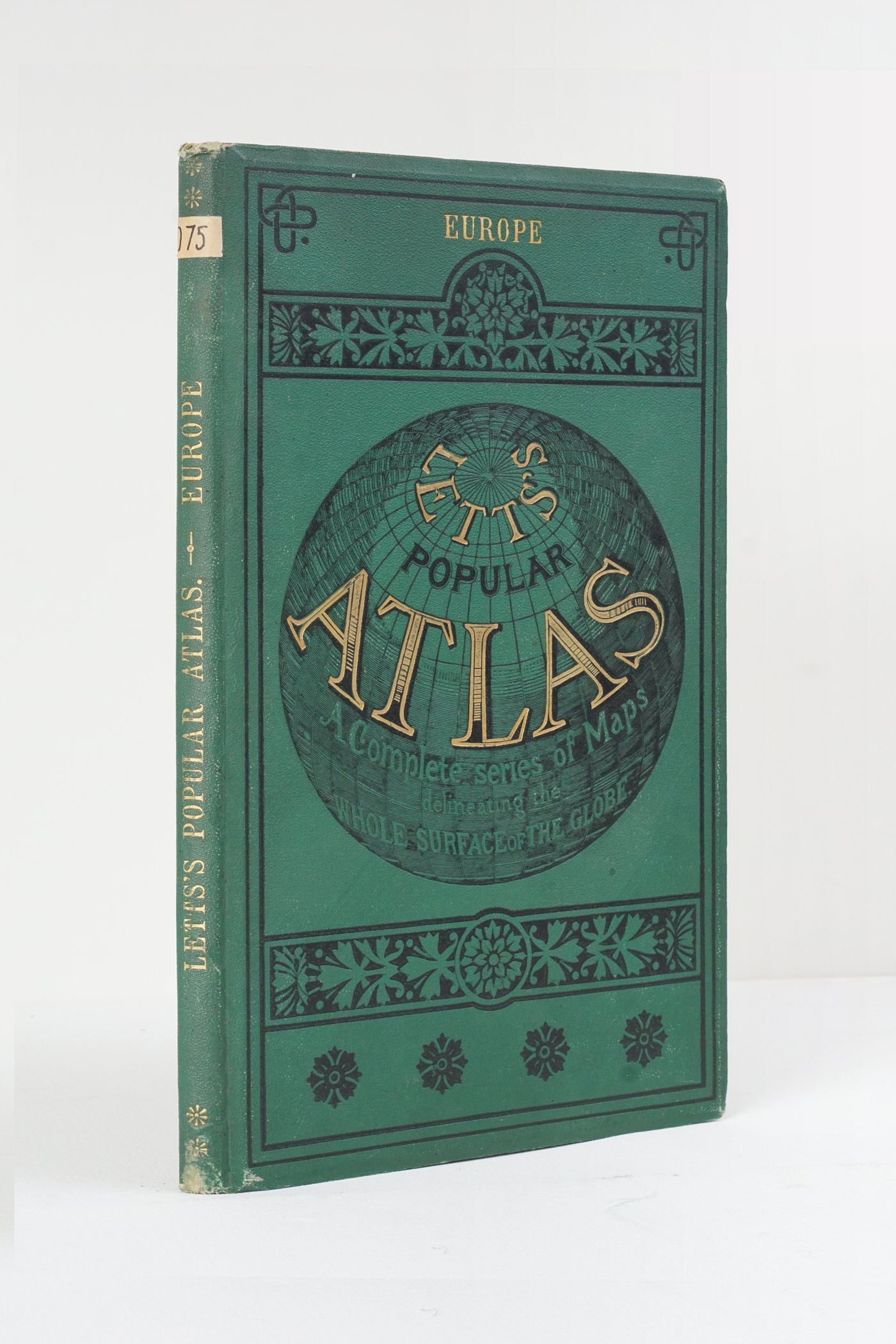 Letts's Popular Atlas - Europe