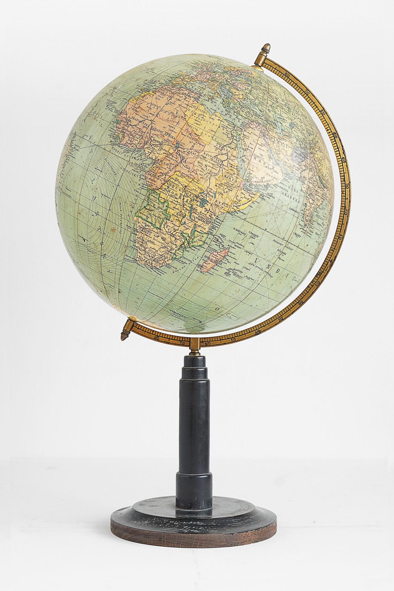 Czech Language School Globe by Logia