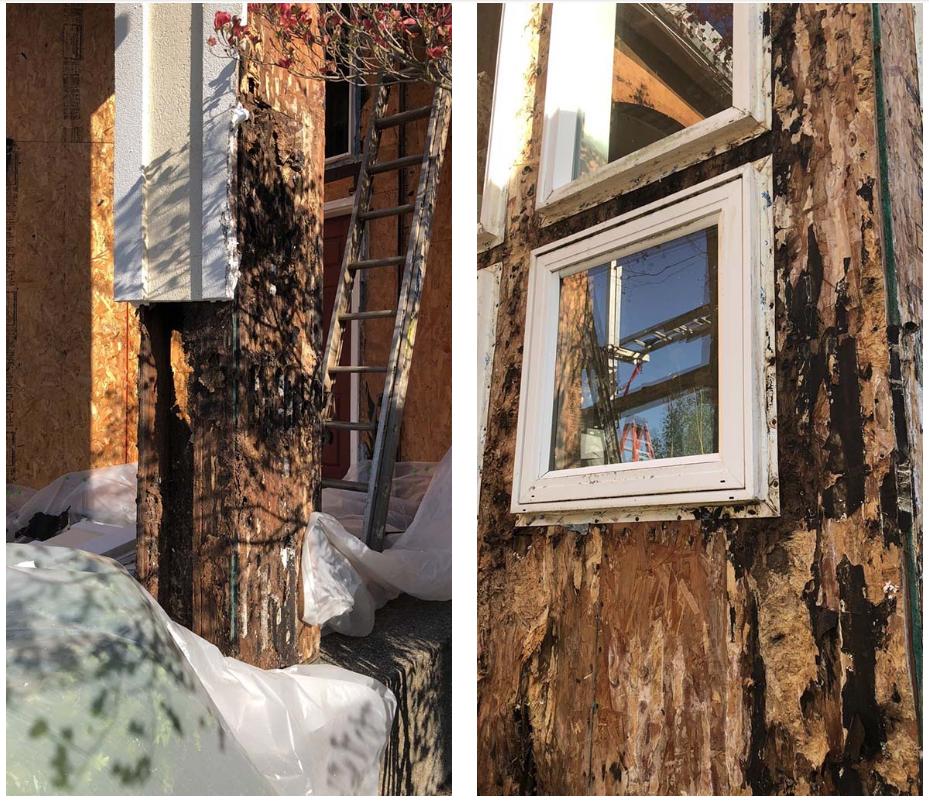 EIFS Replacement   Cedar/Stone