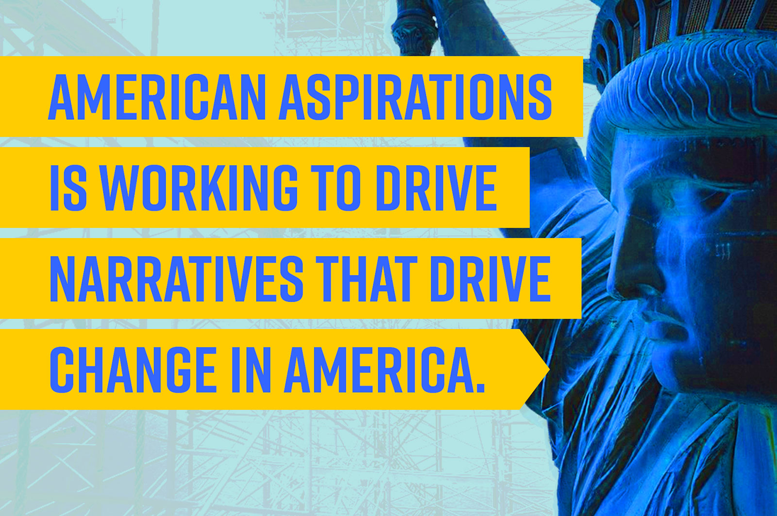American Aspirations is working to drive narratives that drive change in America