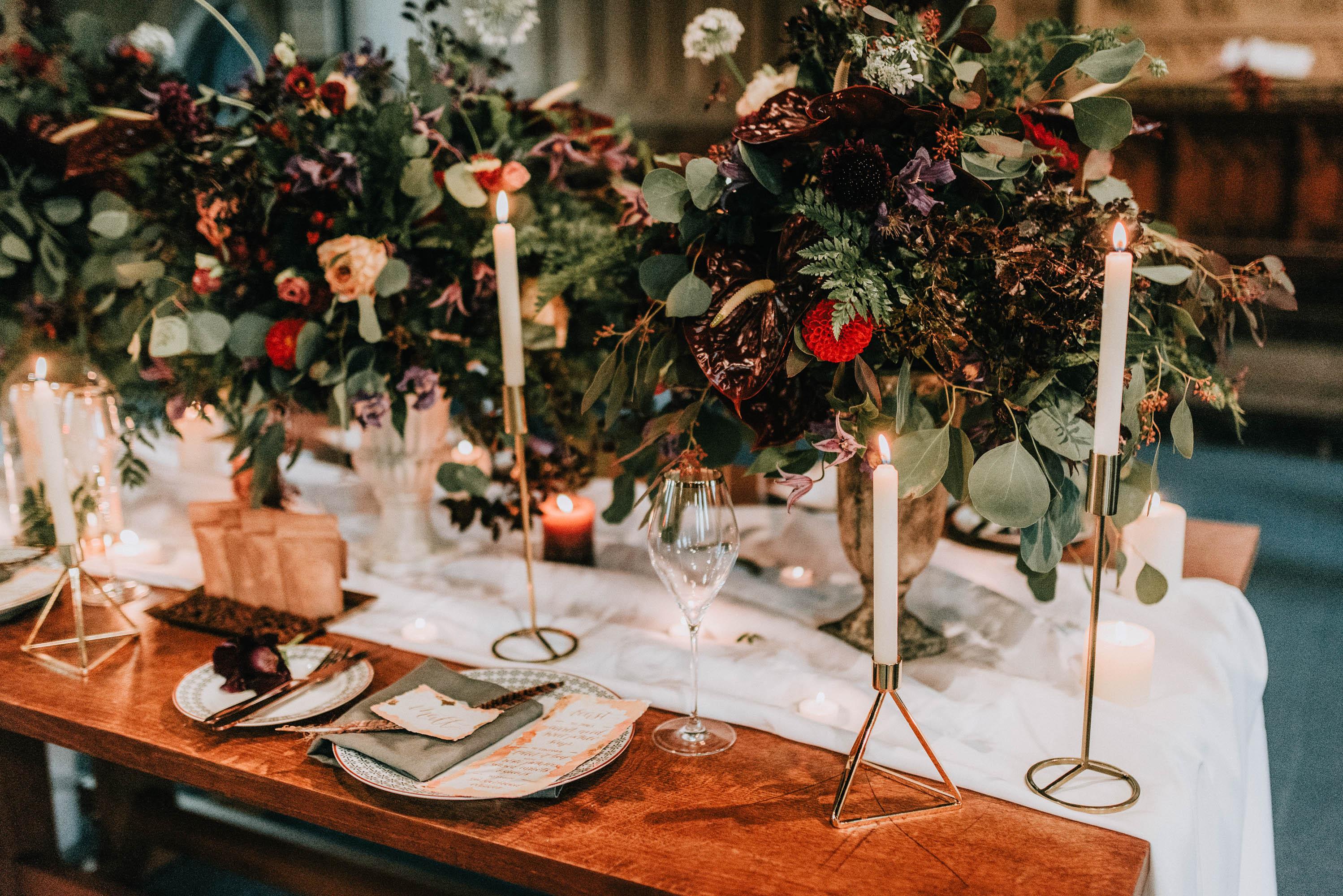 Wedding Flower Centrepieces