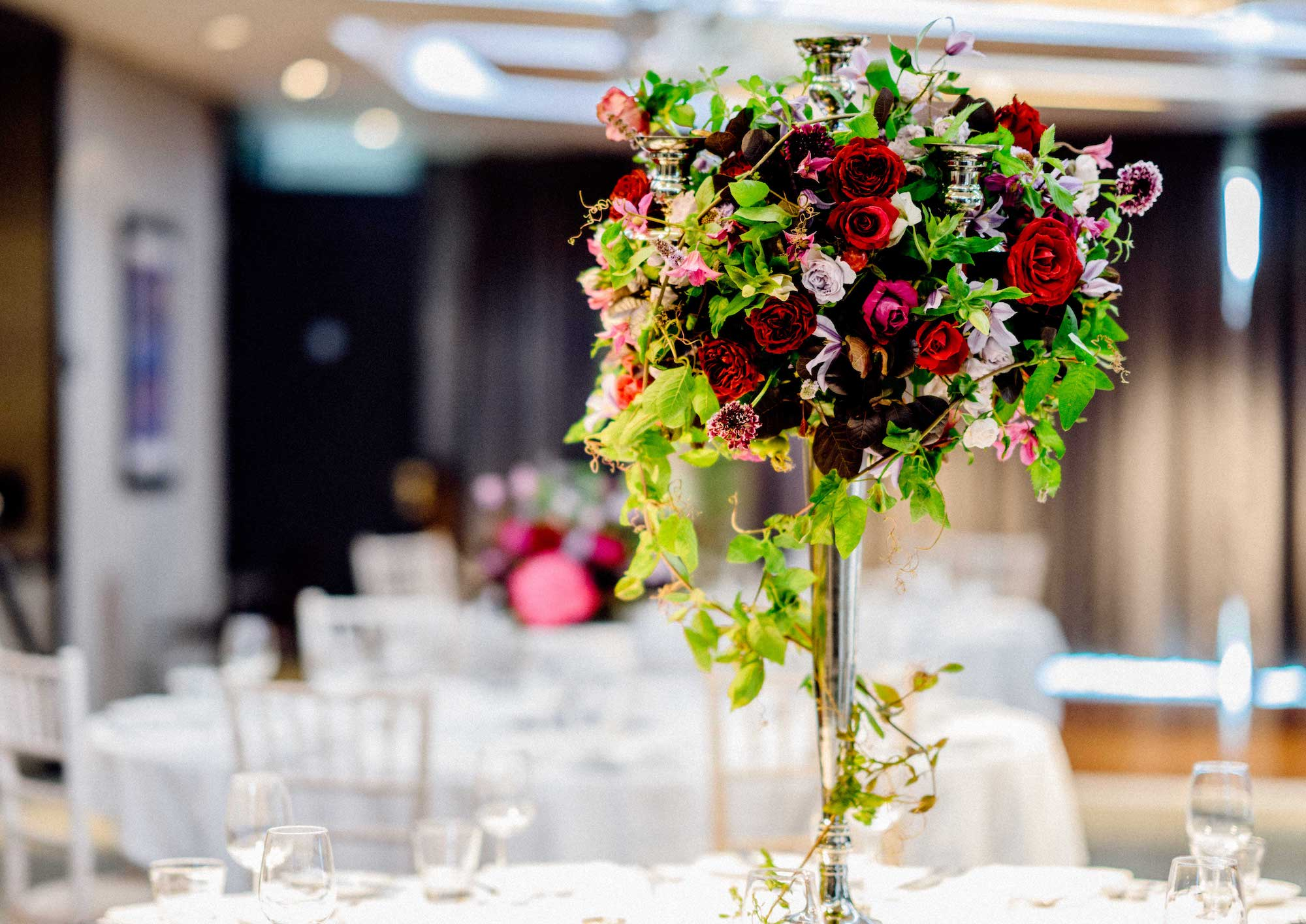 Tall Table Centrepiece