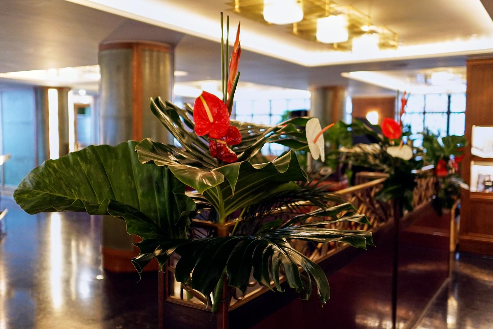 The Ivy Club Flowers - Winter Carnival - Anthurium Flower Arrangement