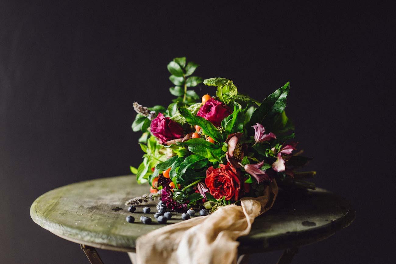 Heir Roses Wedding Bouquet