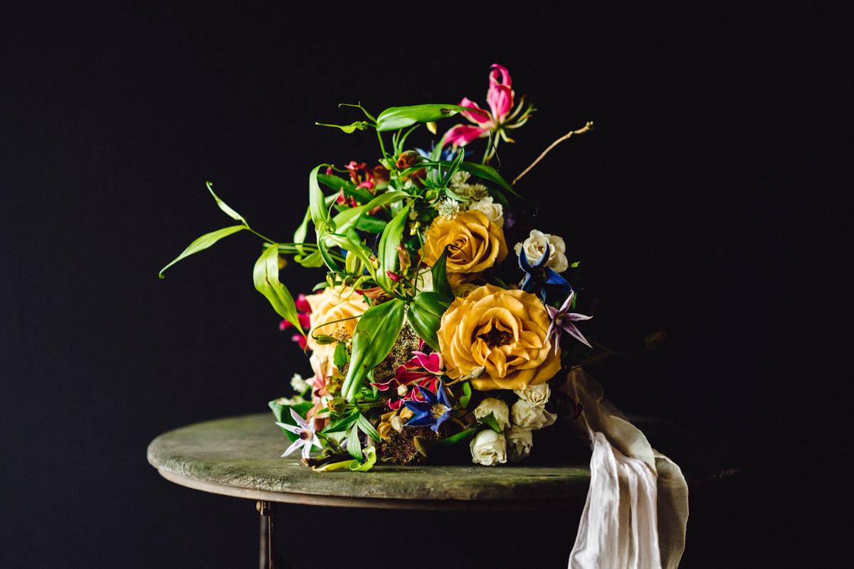 Clematis Wedding Bouquet