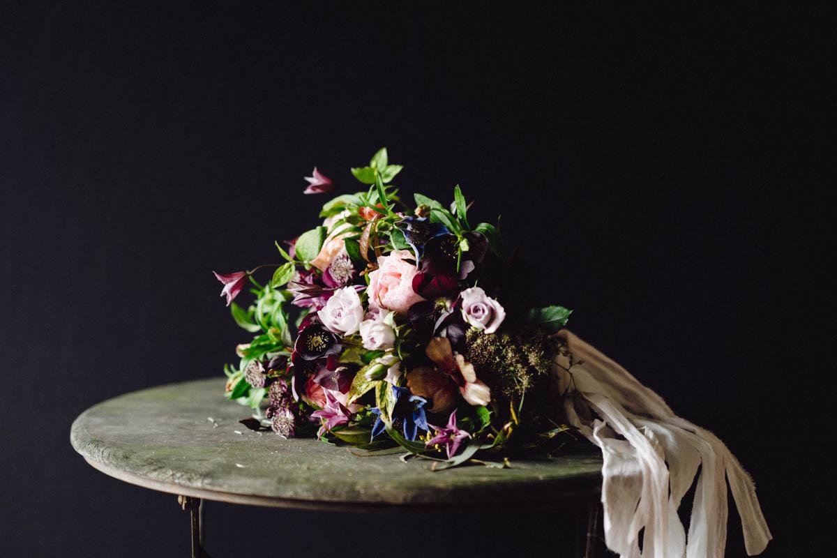 Mauve Wedding Bouquet