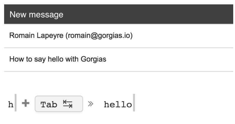 gorgias templates a chrome extension that helps you write faster