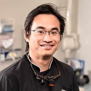 Hawthorn dentist Dr Patrick Wong