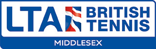 LTA British Tennis Middlesex logo