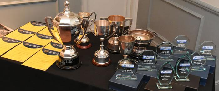 British Tennis Awards 2018 Trophies